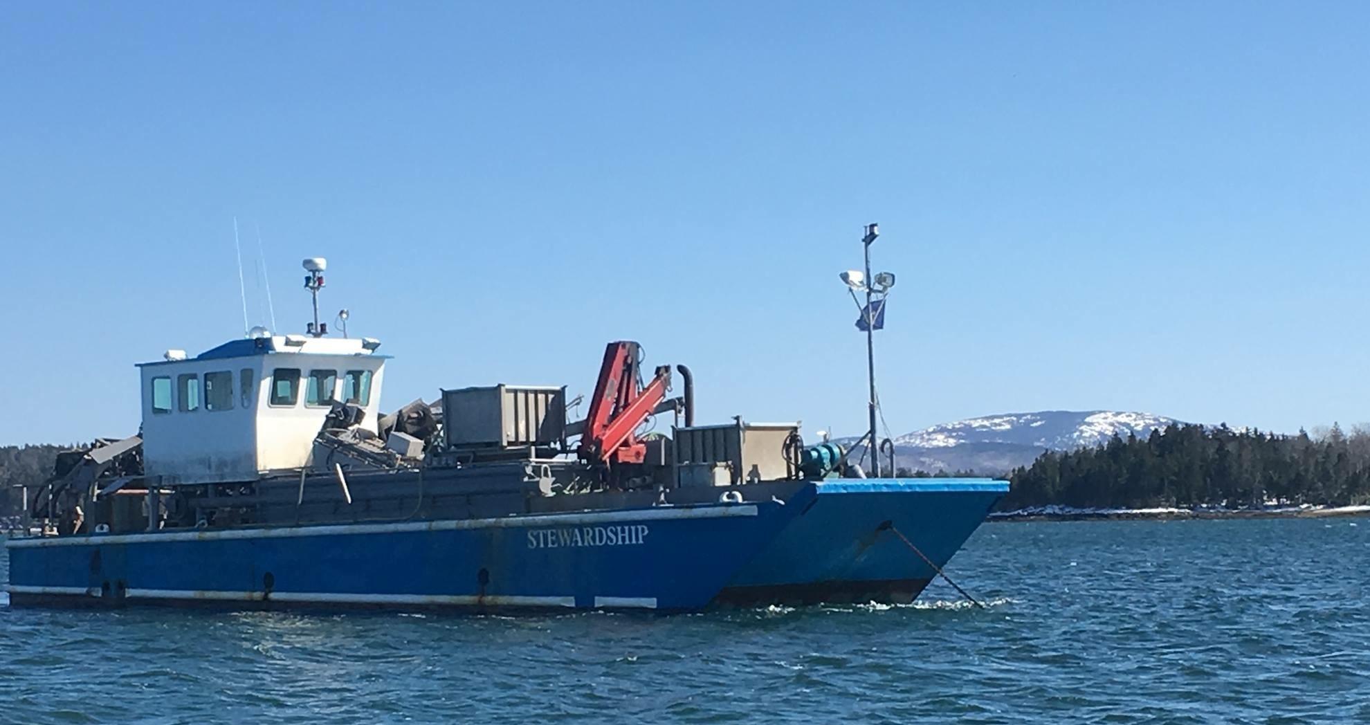 The Stewardship mussel vessel