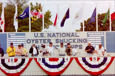 Nationals take place every year in Leonardtown,Maryland