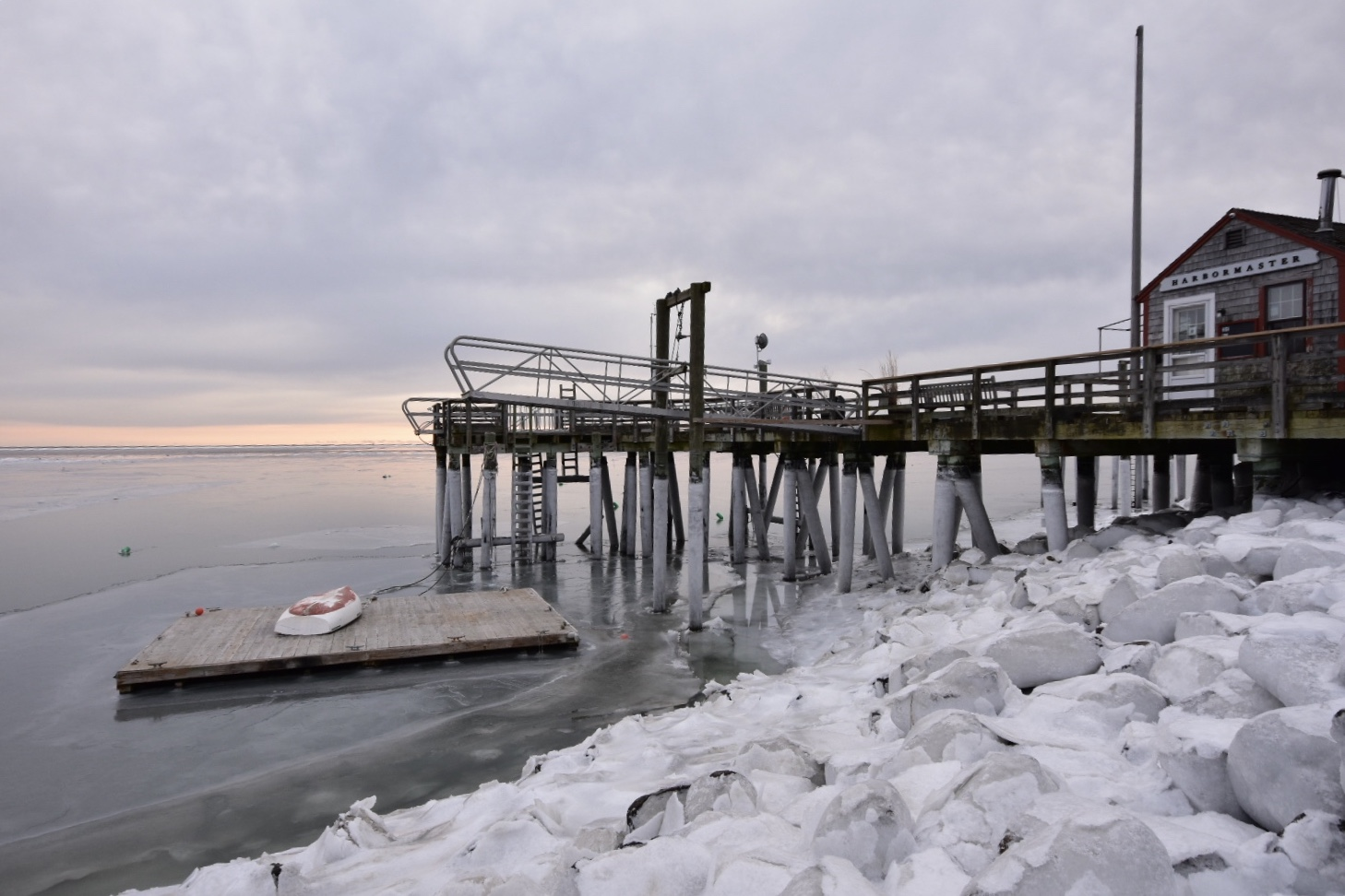 Duxbury Bay, January 2019, Mike Cesarini.