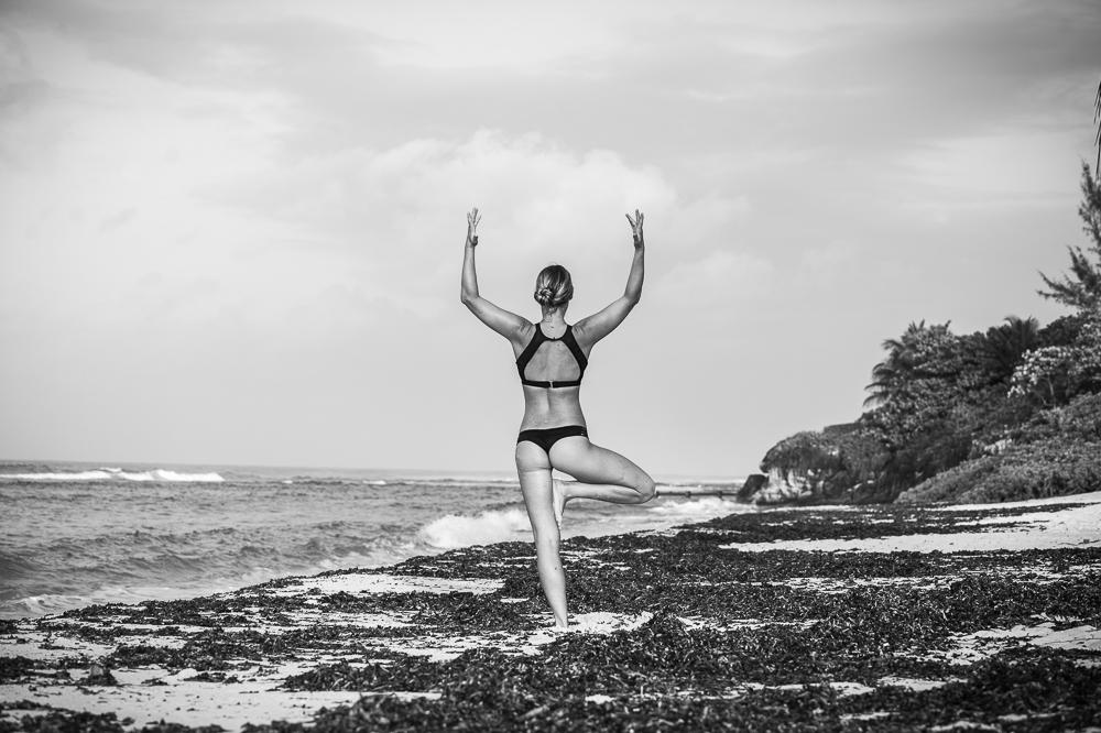 Yoga on the beach # Cayman yoga photography