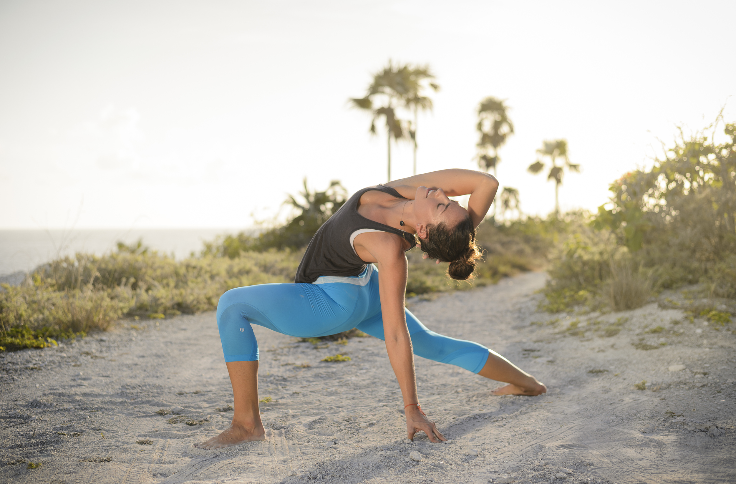 Yoga photography in Cayman