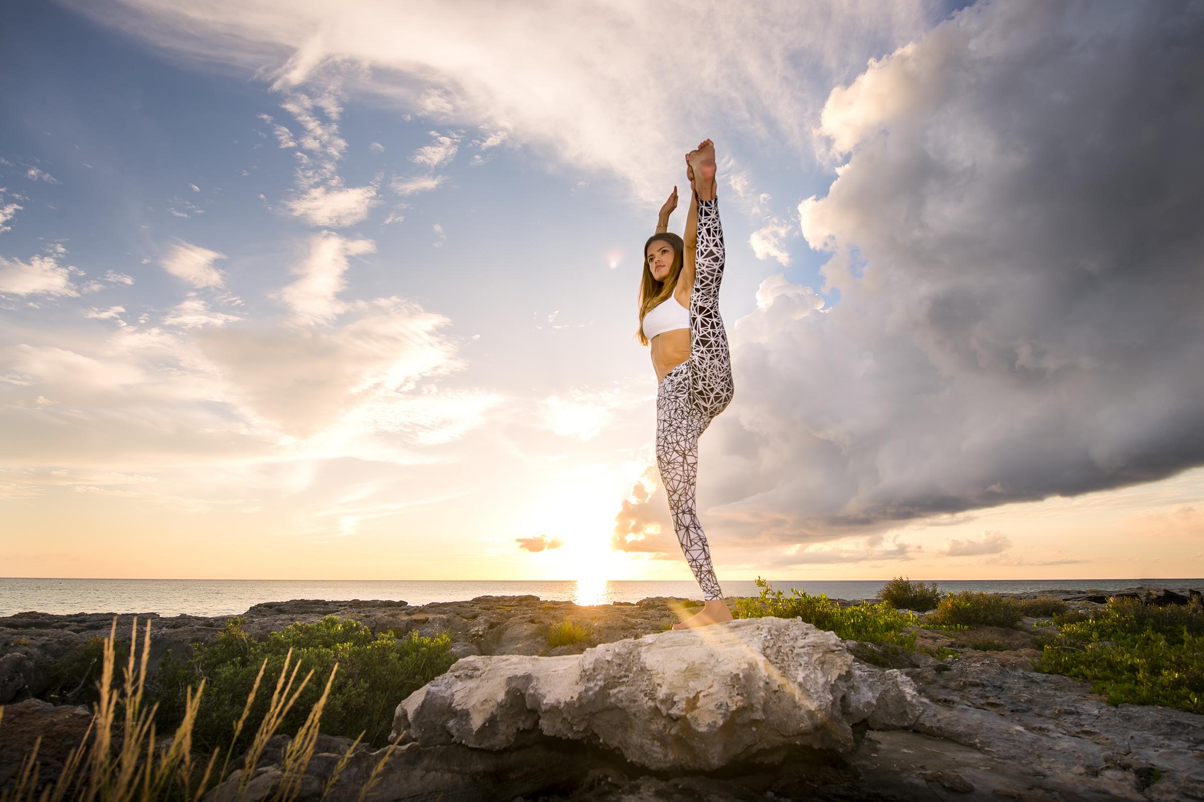 Yoga and lifestyle photography