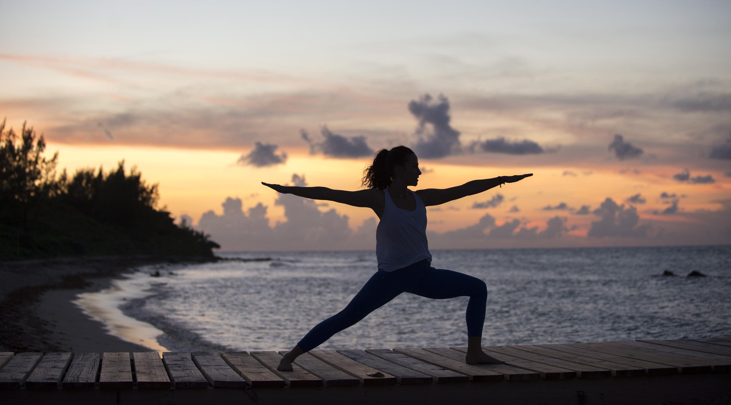 Beautiful yoga photography Cayman