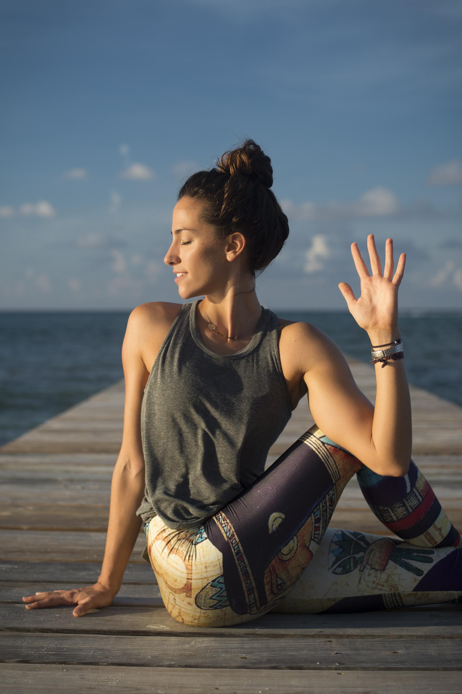 Gorgeous yoga photography Cayman