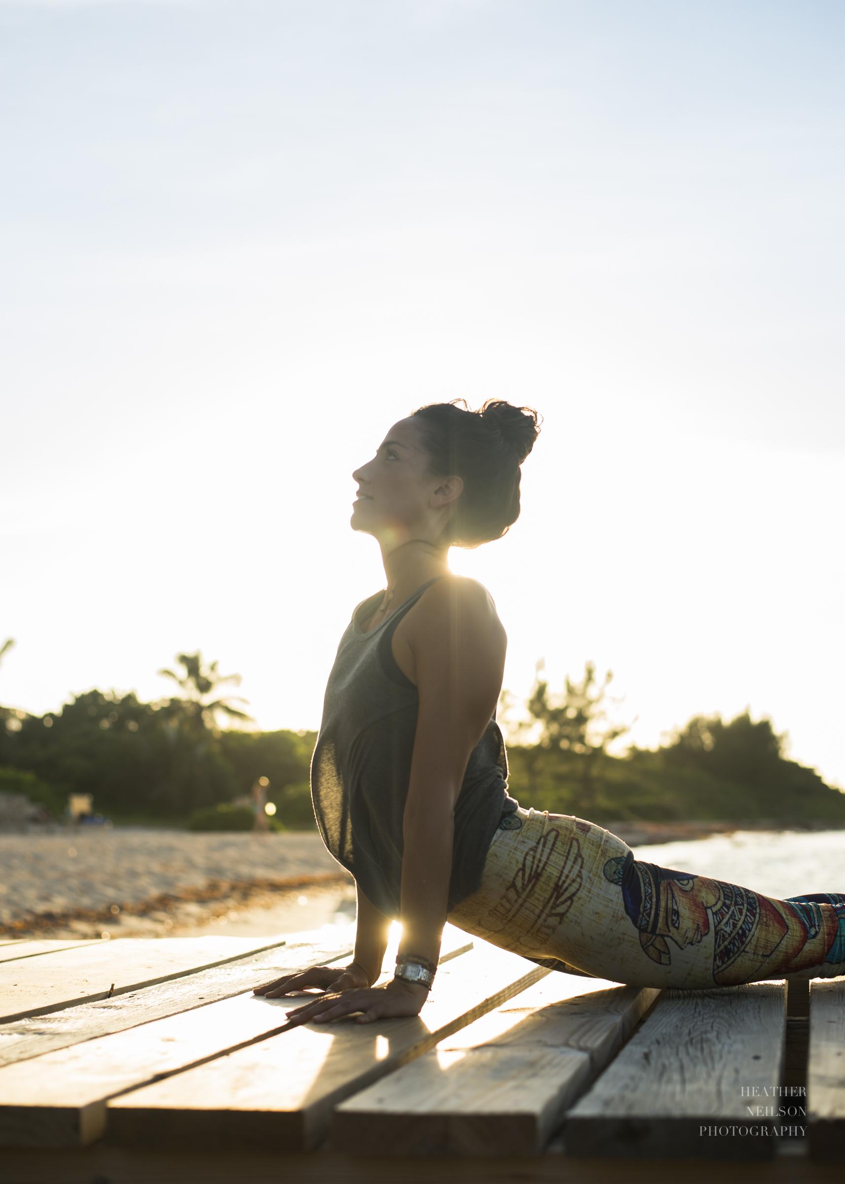 Upward facing dog // Heather Neilson yoga photography