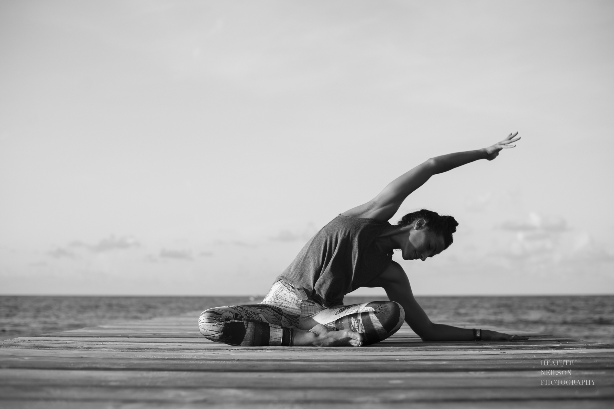 Inspirational yoga photos // Heather Neilson Photography