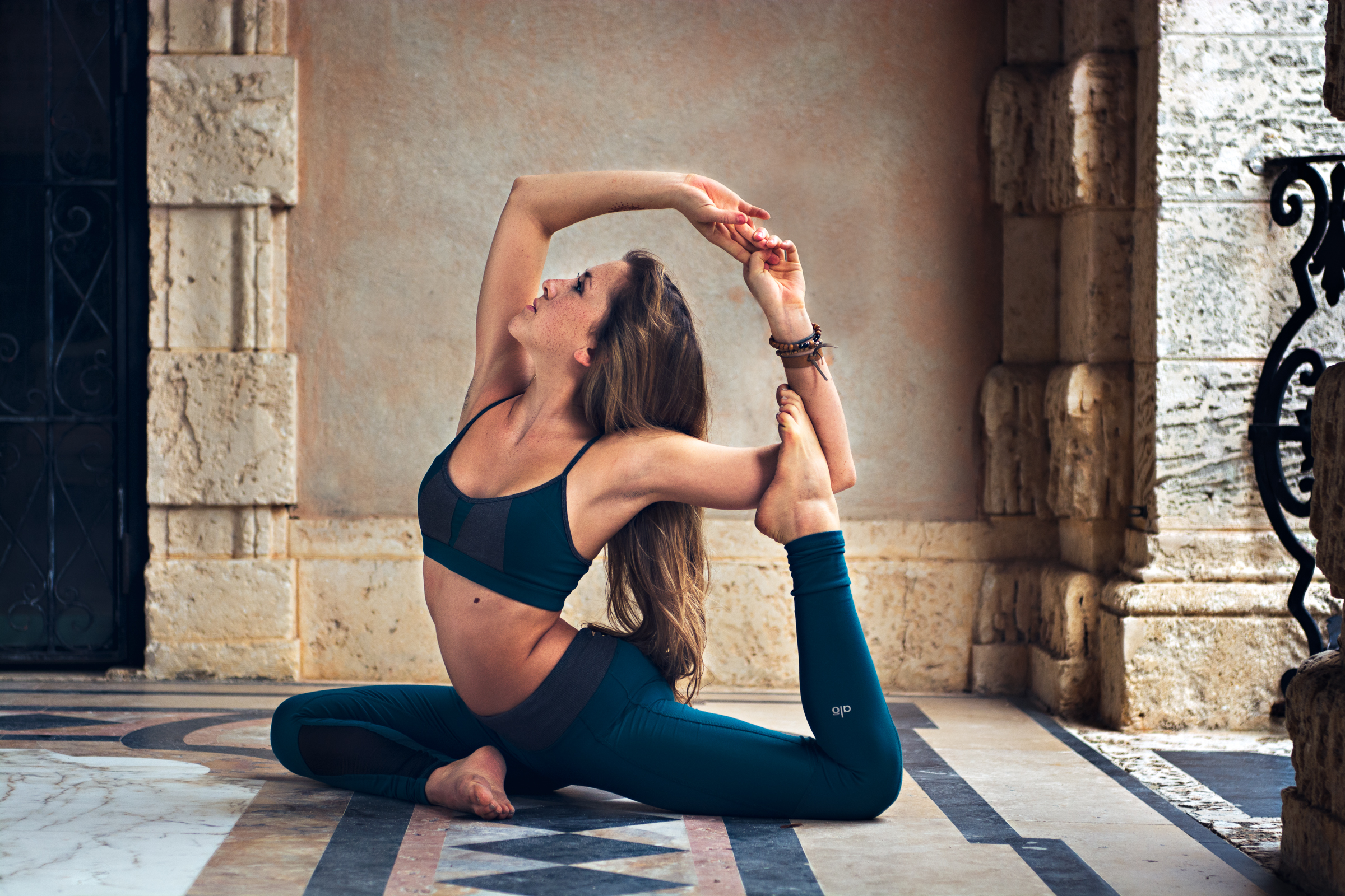 Yoga, lifestyle and portrait photographer - Cayman and Miami - image shot at Vizcaya Miami