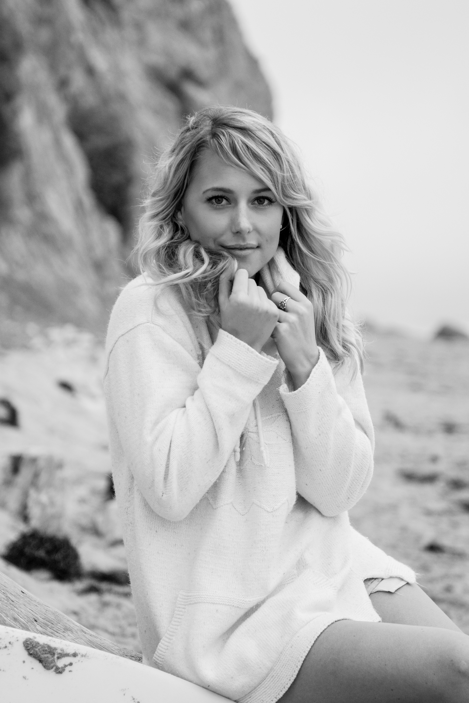 Portrait and lifestyle photographer Cayman and California: beach portrait shoot