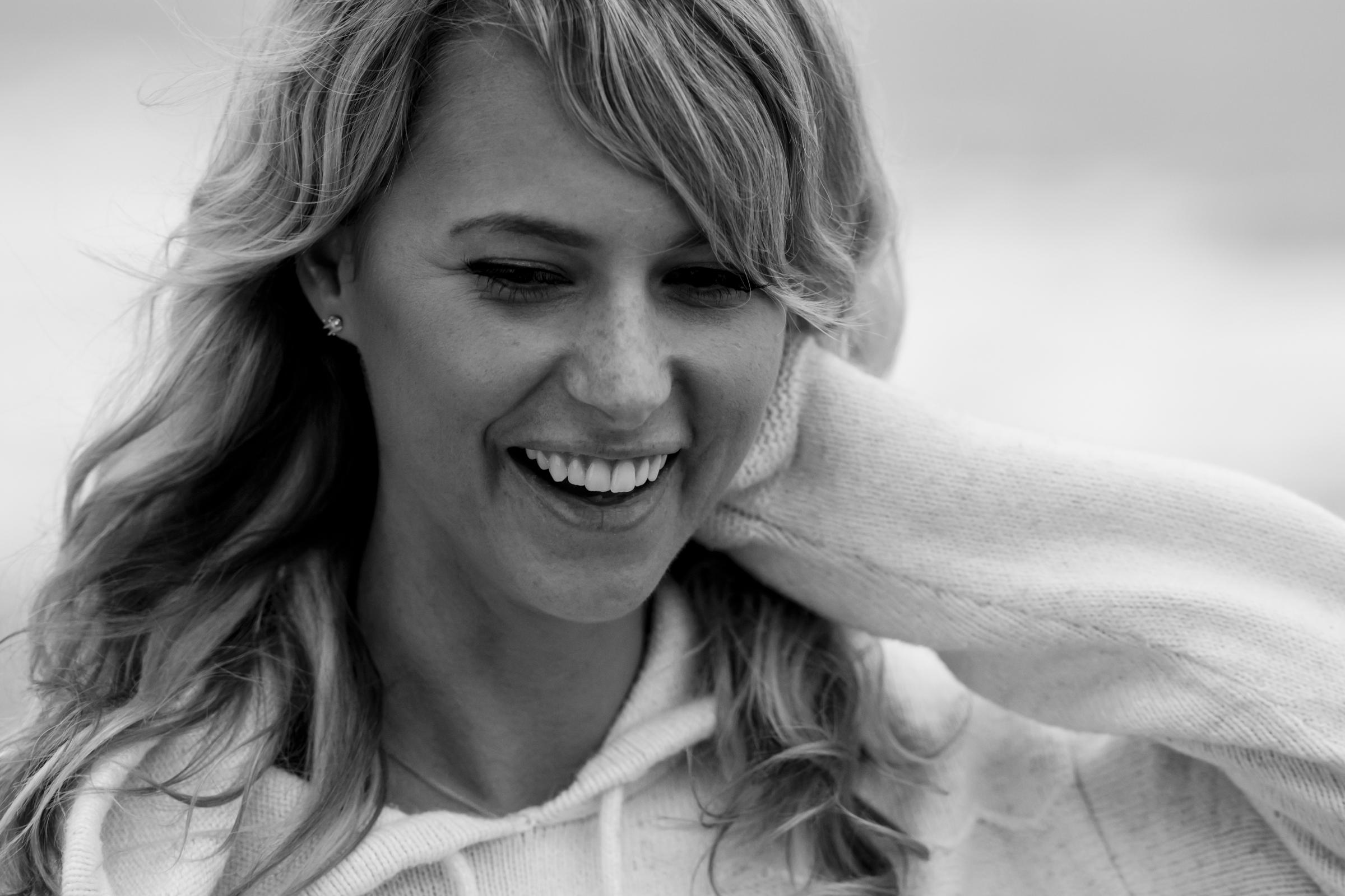 Portrait and lifestyle photographer Cayman and California: beach portrait photoshoot