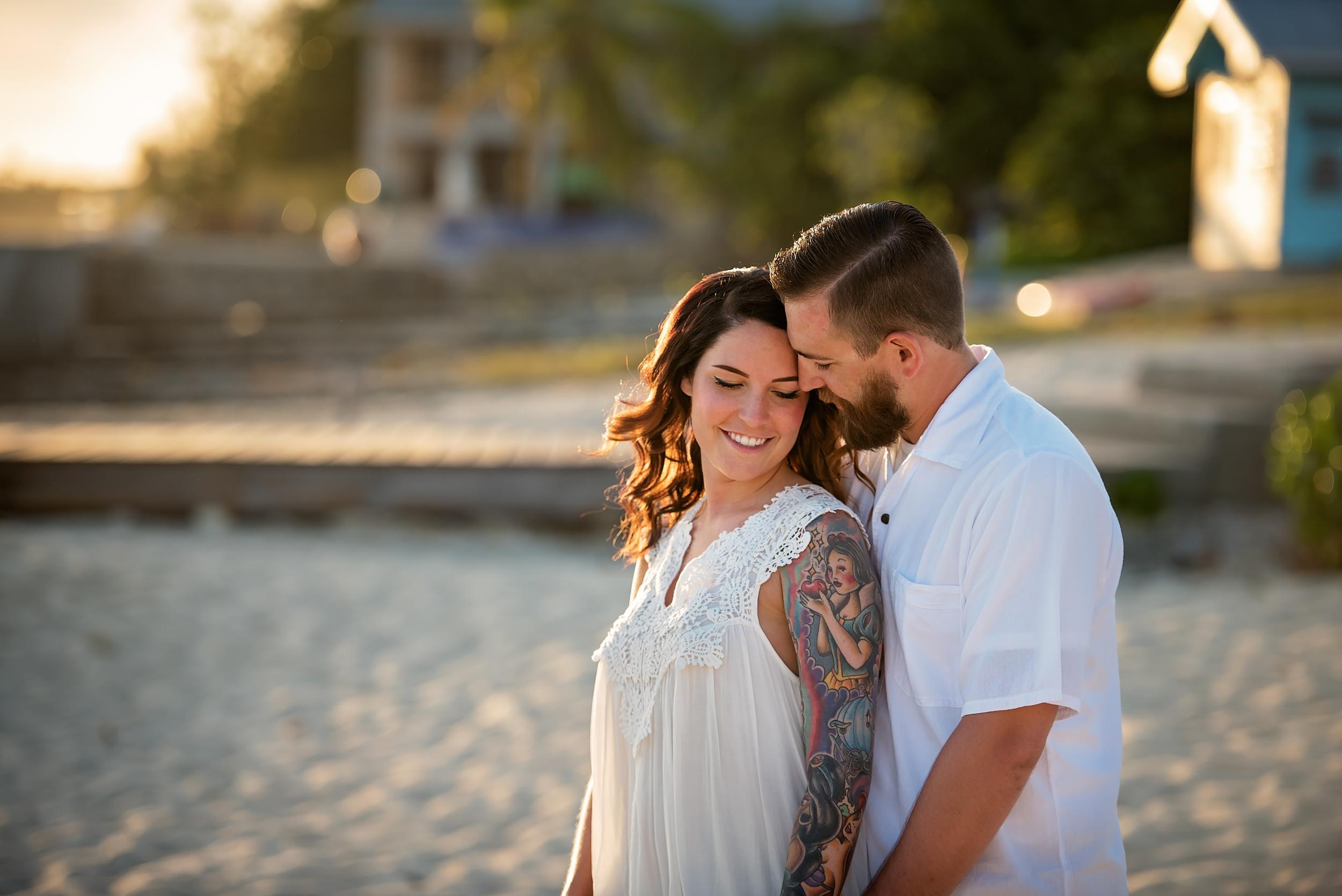 Cayman Islands engagement shoot | beach proposal