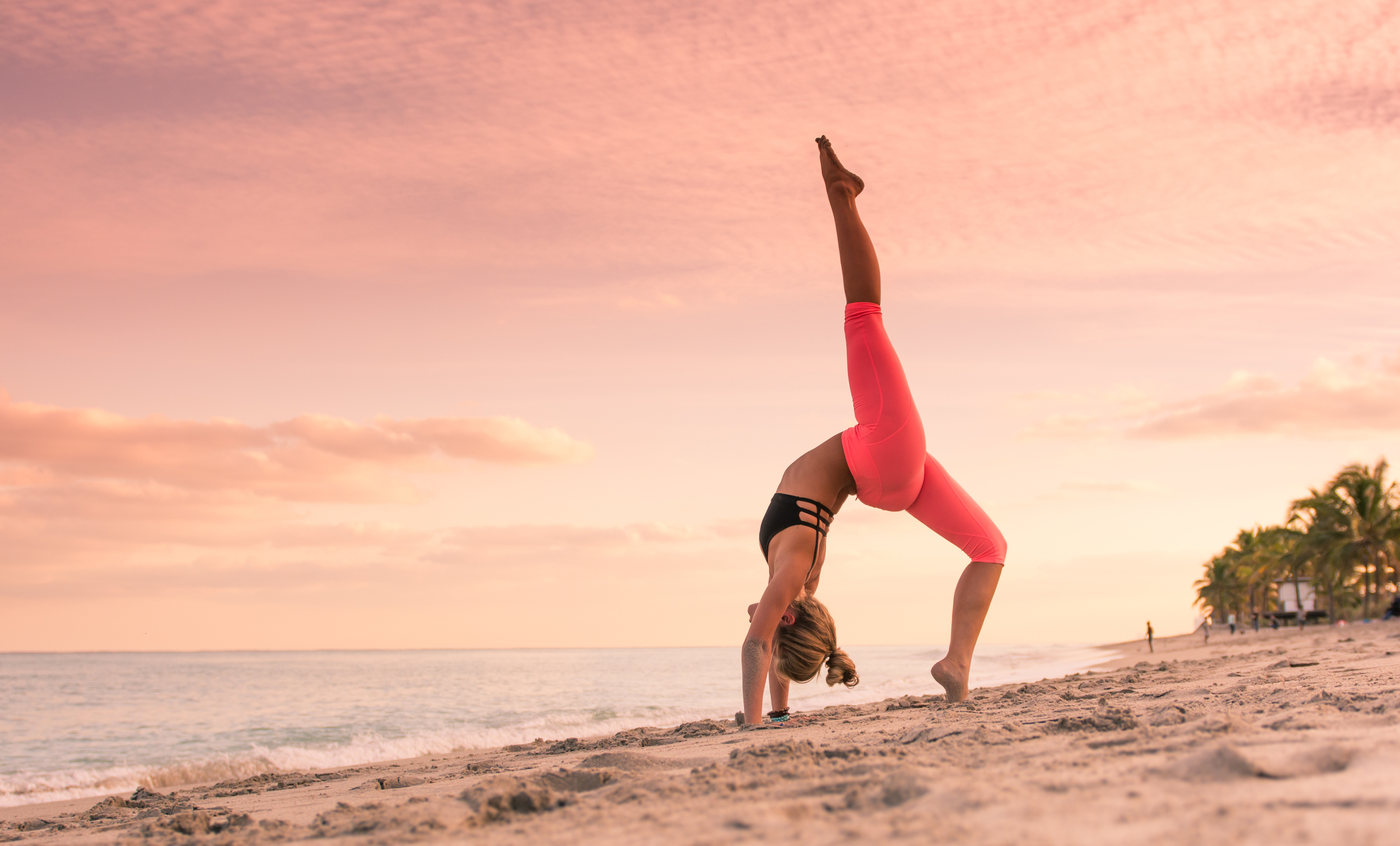 Cayman Islands and Miami yoga and portrait photography
