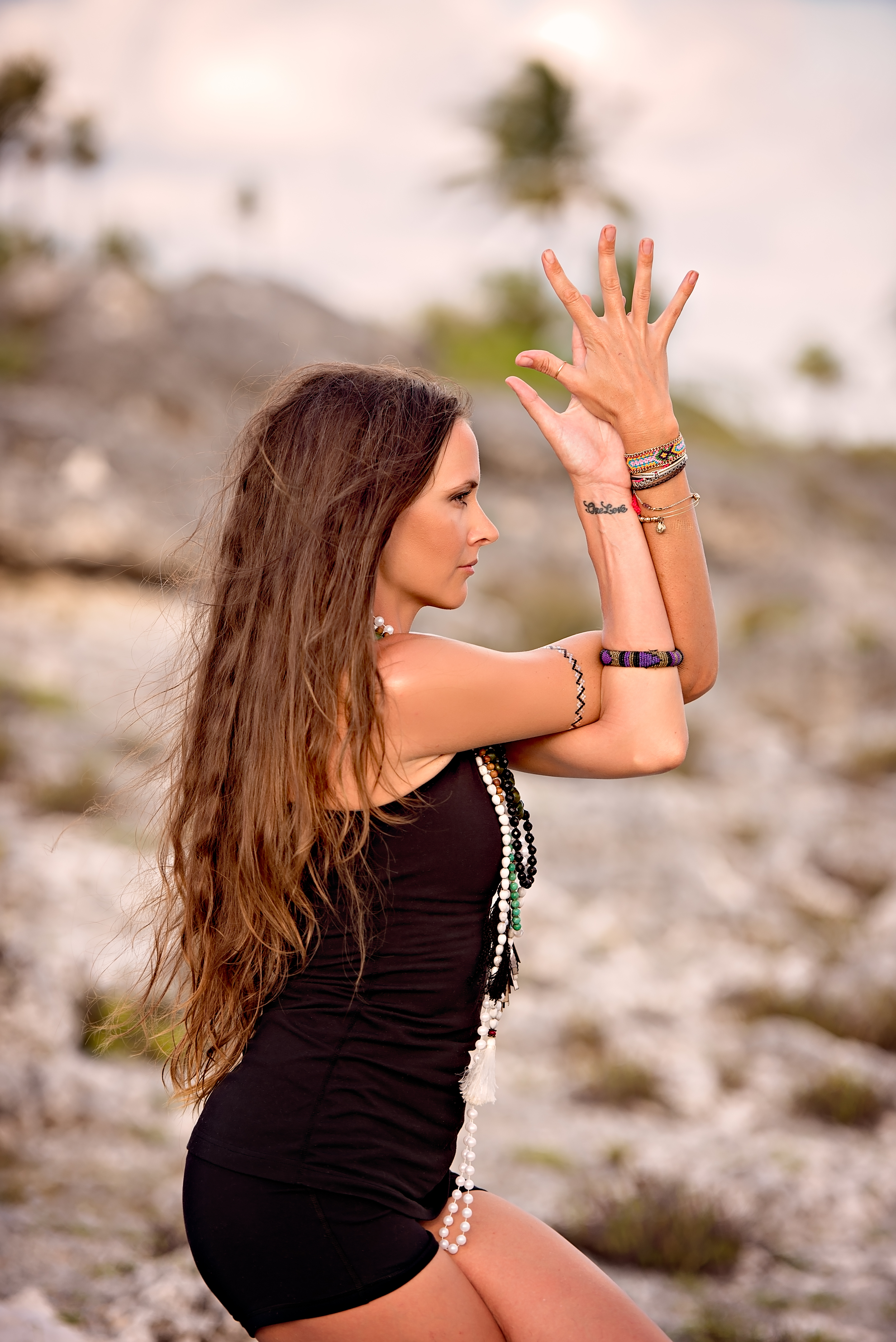 London and California yoga photography