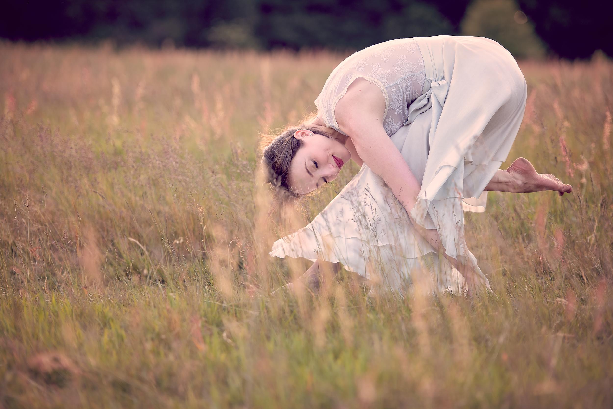 London yoga and dance photographer | location shoot Hampstead Heath