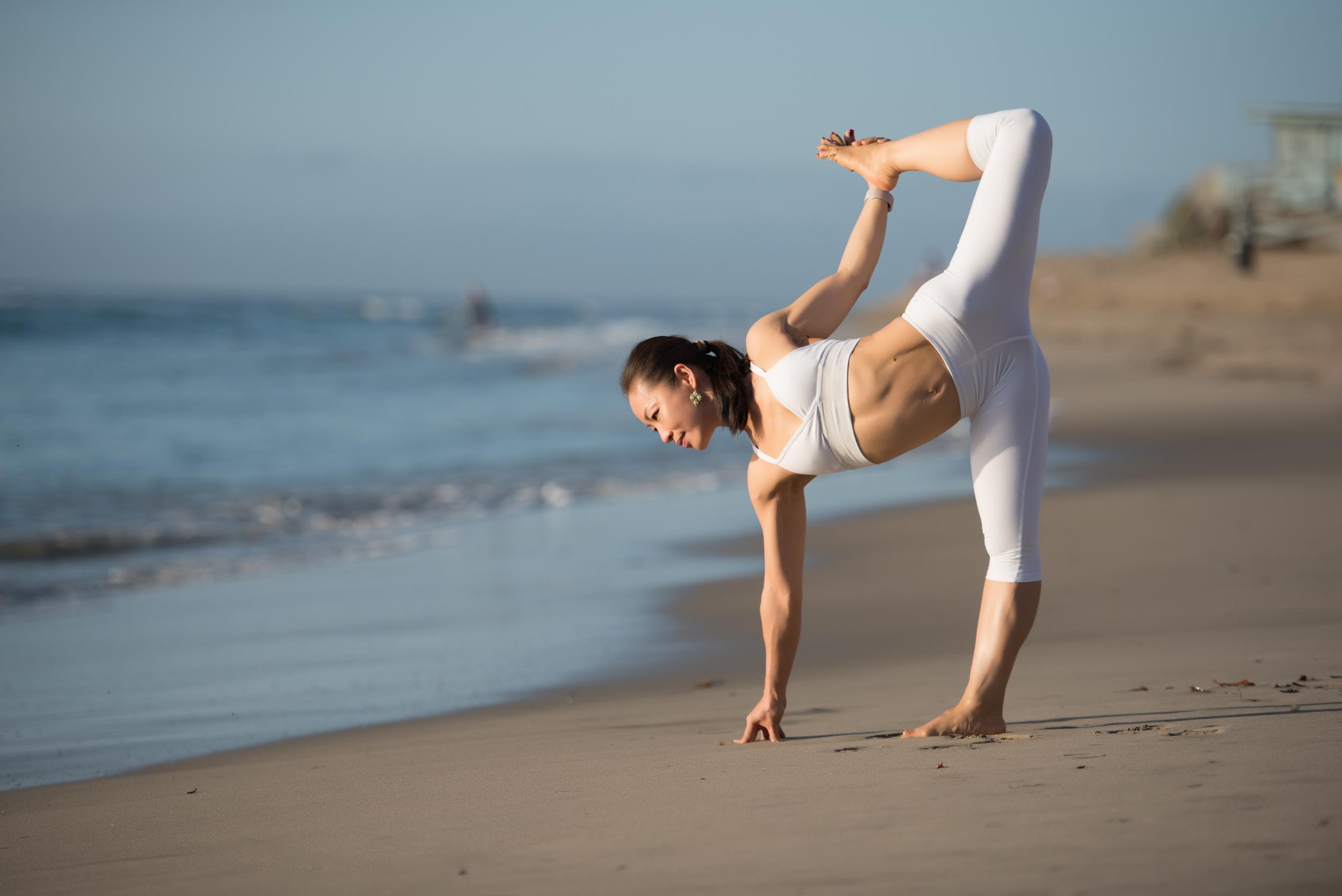 California yoga photographer | Malibu beaches