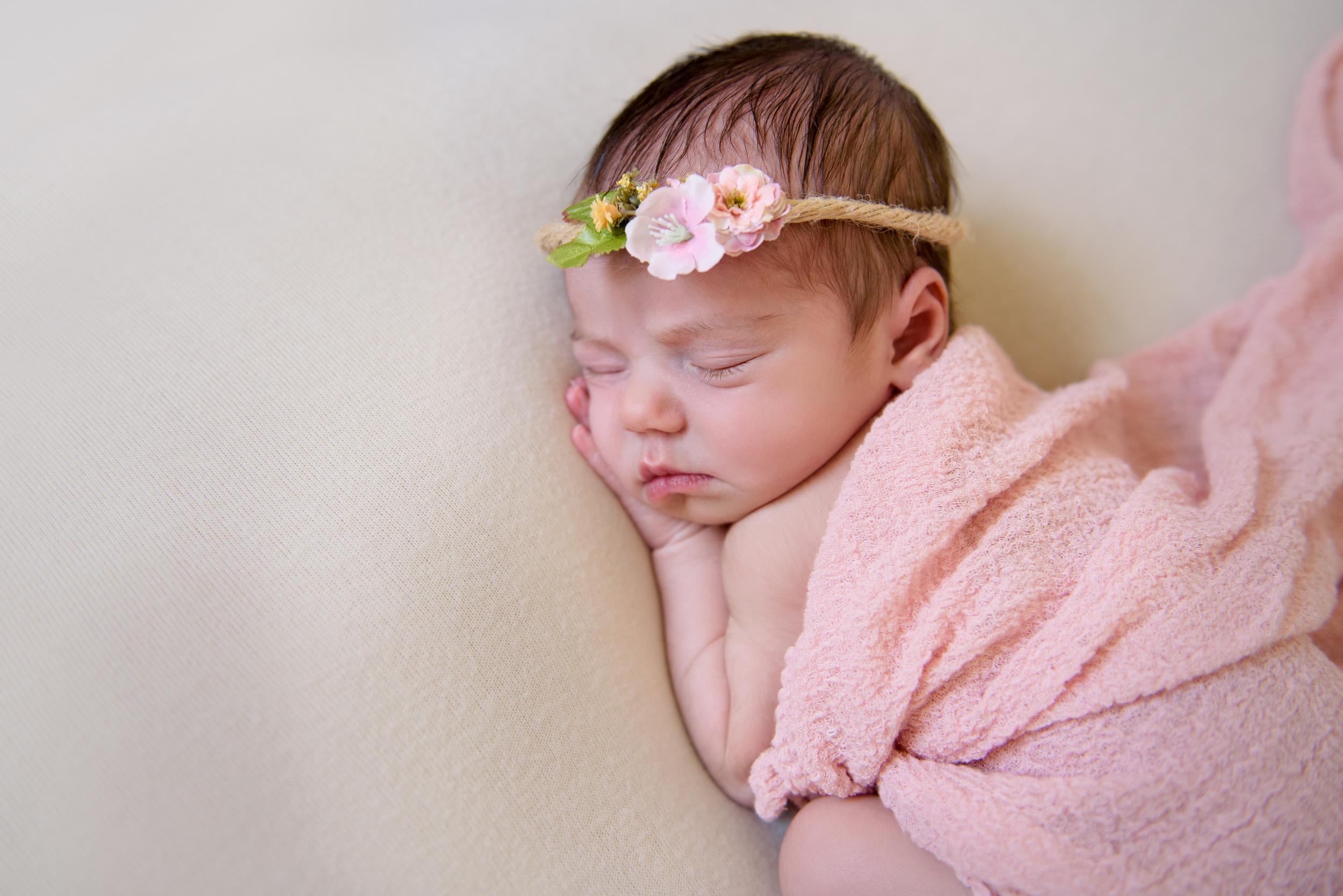 Newborn photographer in Kensington, West London