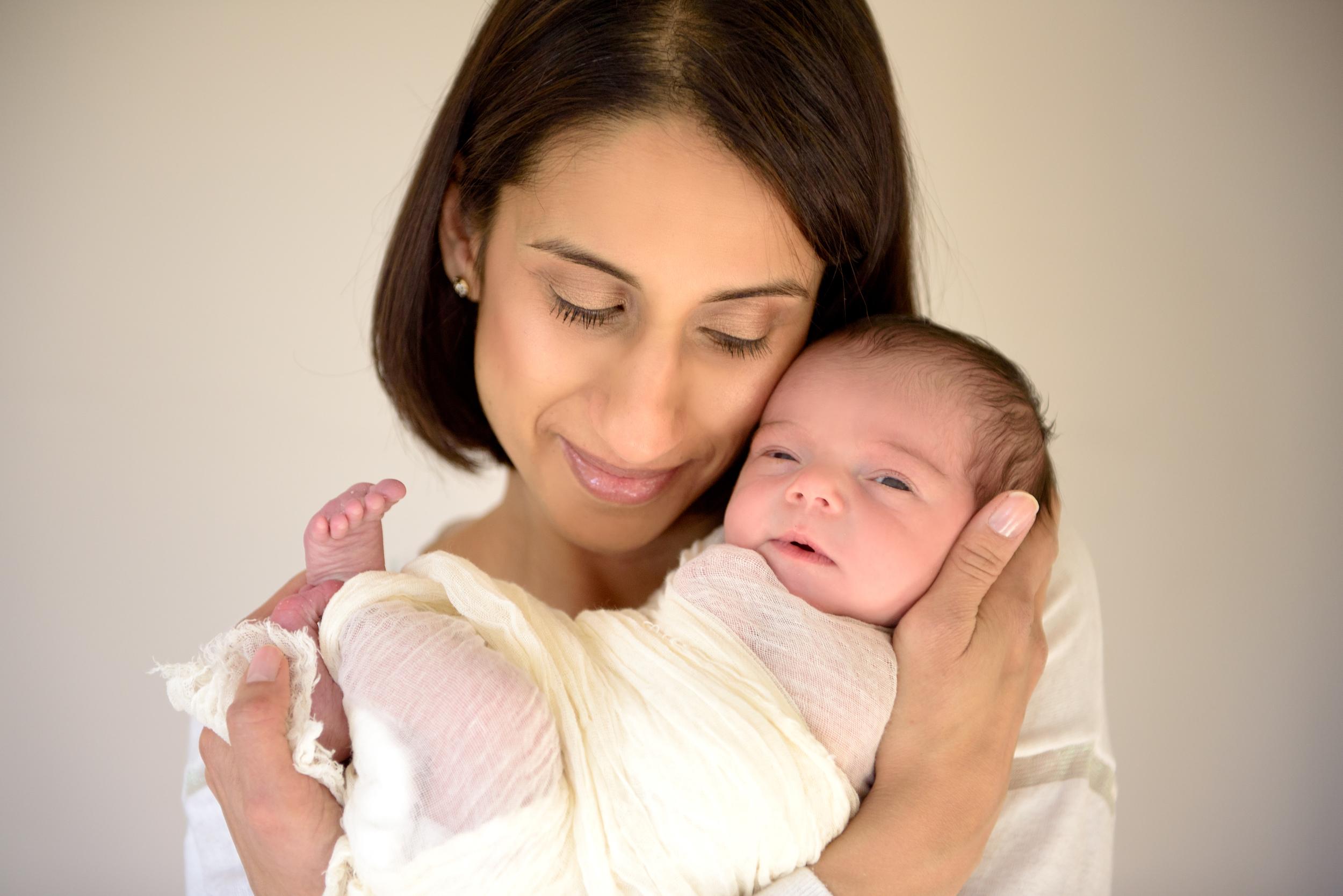 Newborn photographer, Kensington West London