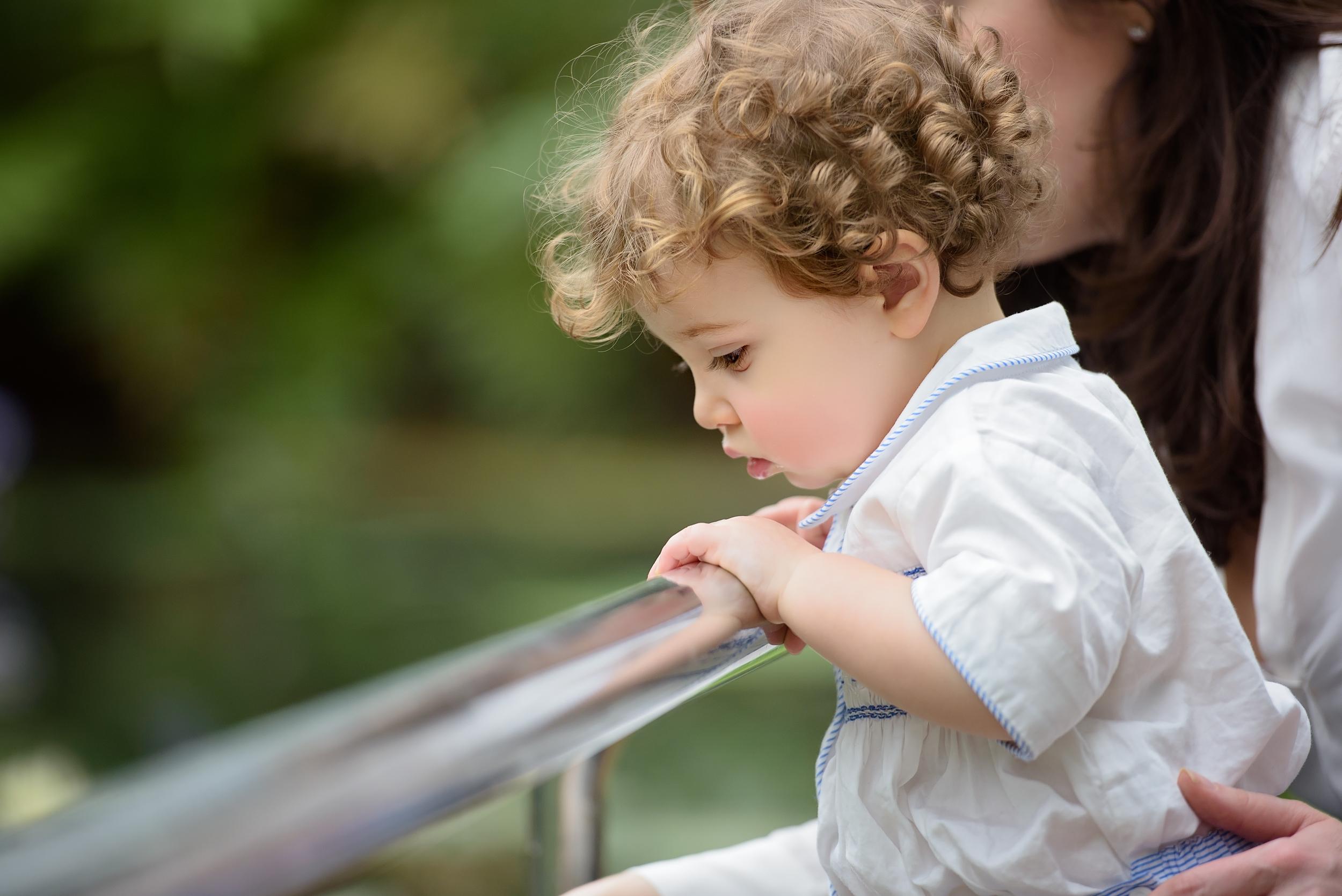 Kew Gardens child portraits