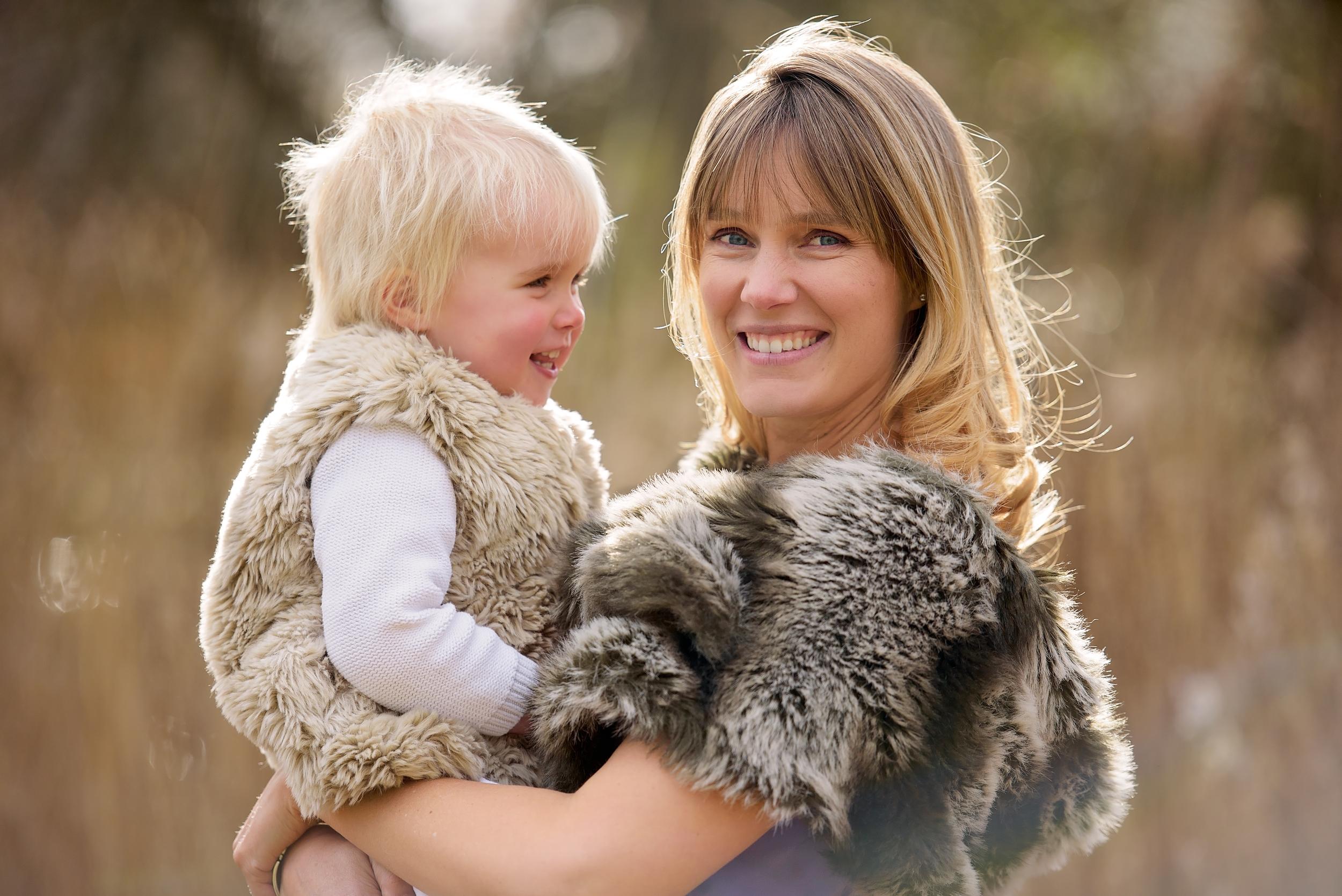 Family photoshoot in Richmond Park, SW London