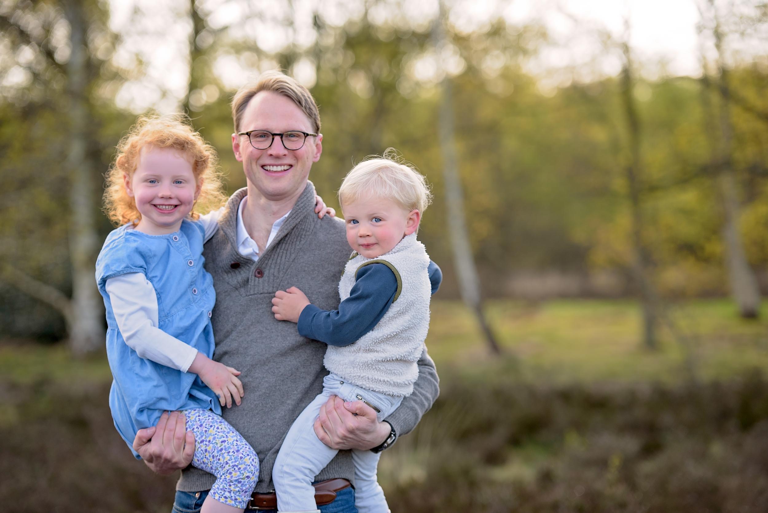 Family portraits on Wimbledon Common