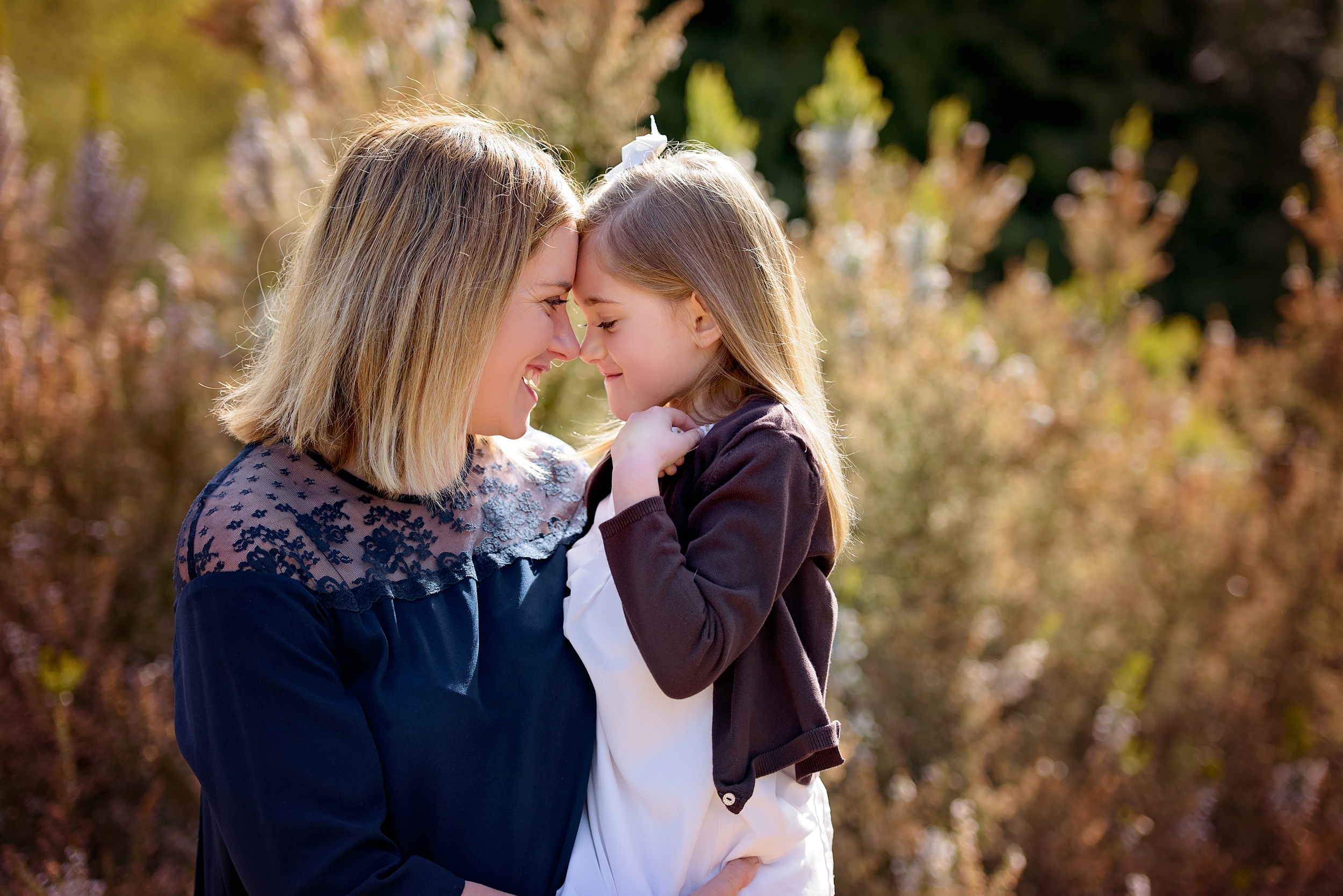 Mother and daughter portrait photographer, London