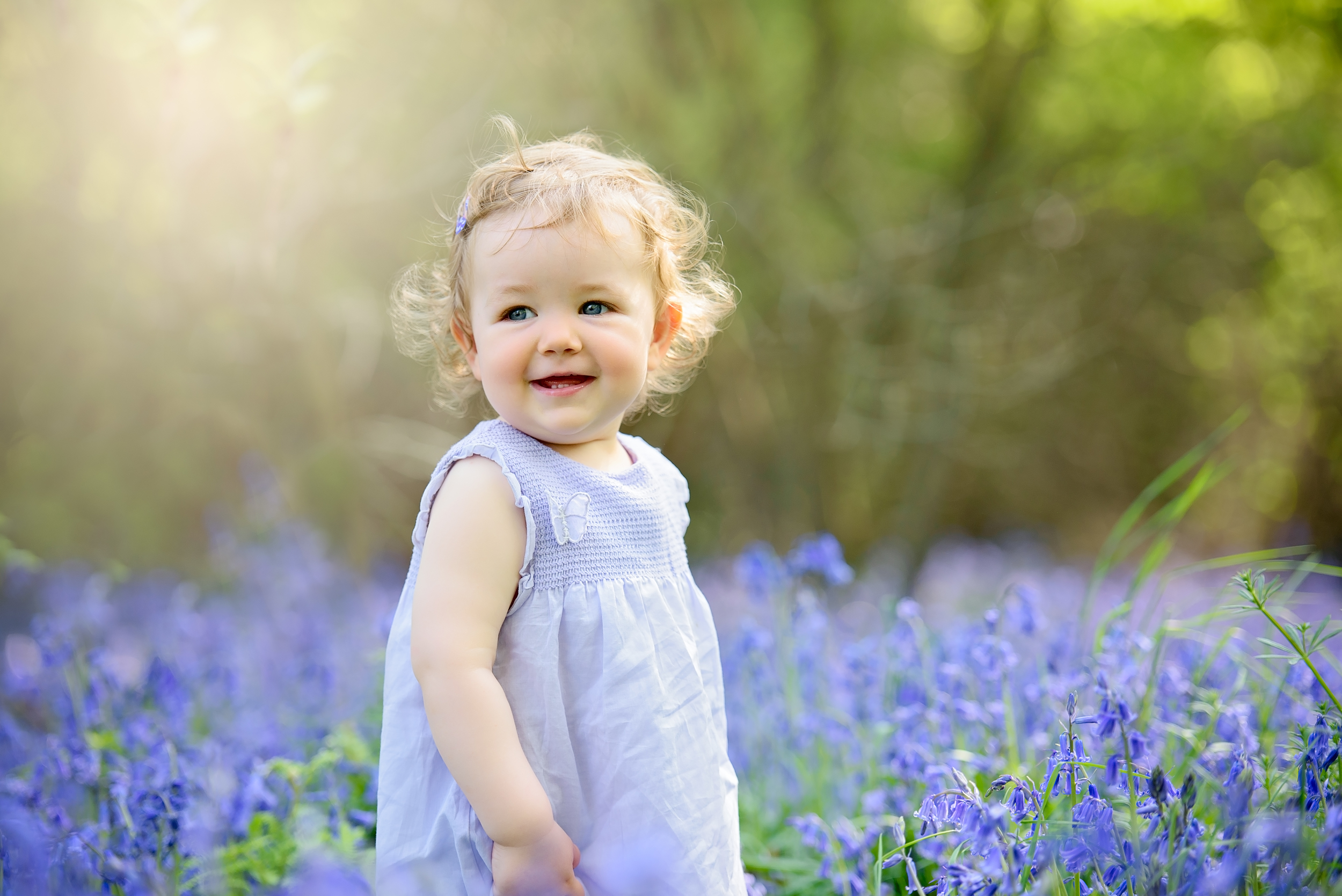 Toddler photography in London | Bluebell photoshoot
