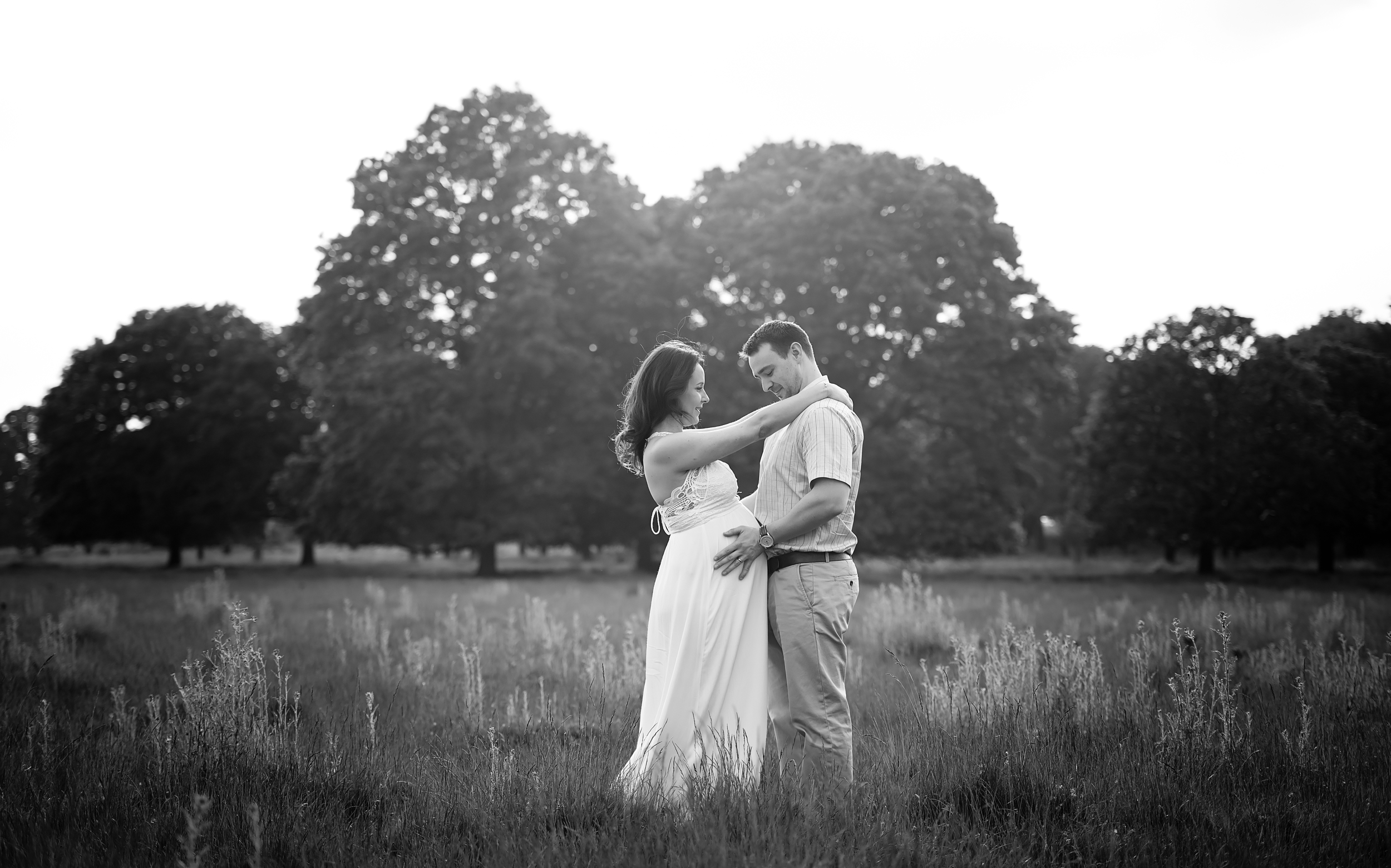 Black and white portrait photography | London