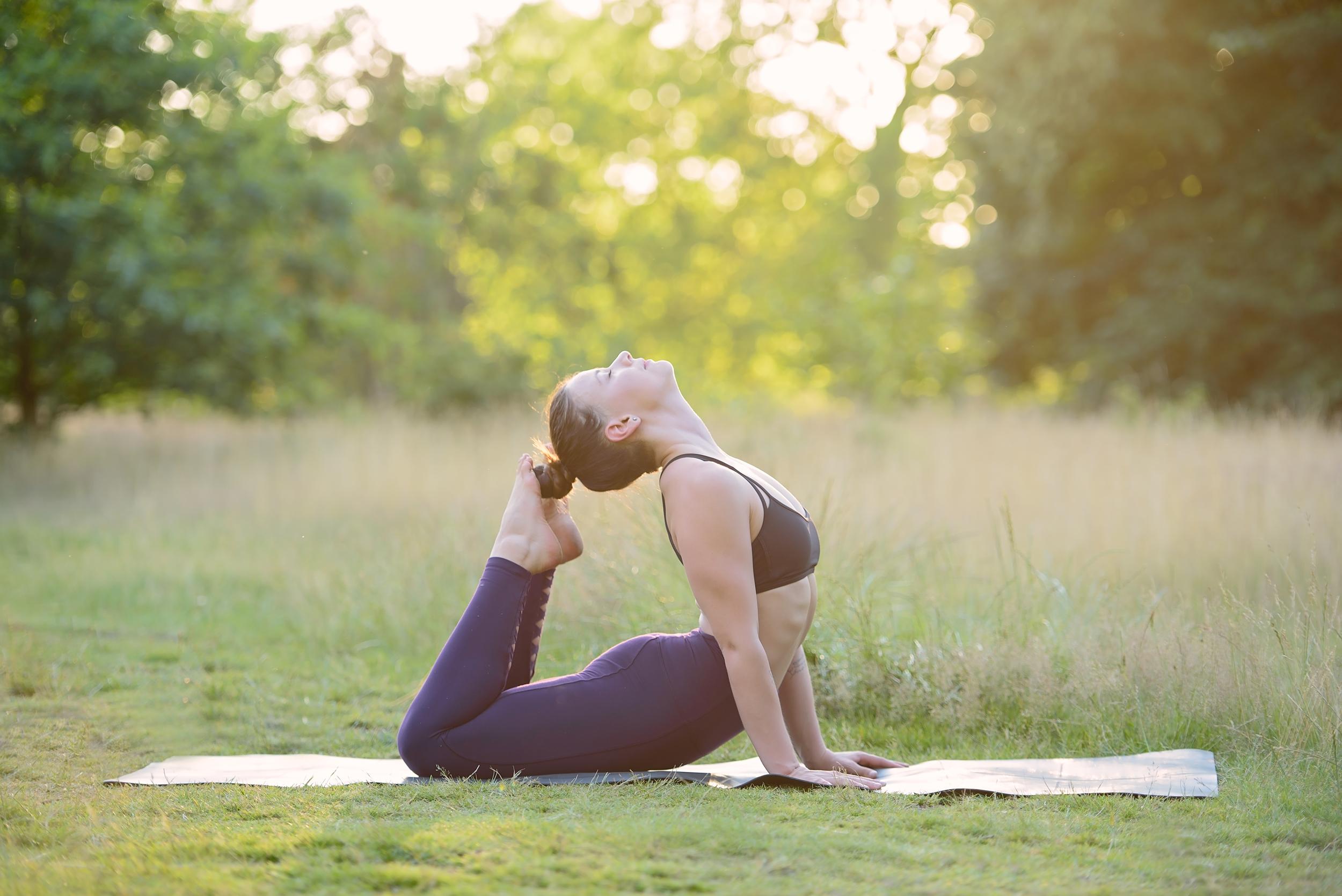 Top yoga photographer London