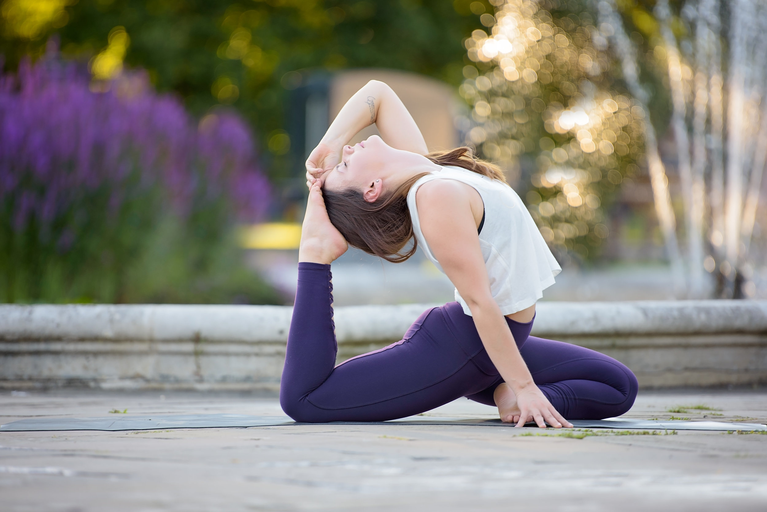 Best London yoga photographer