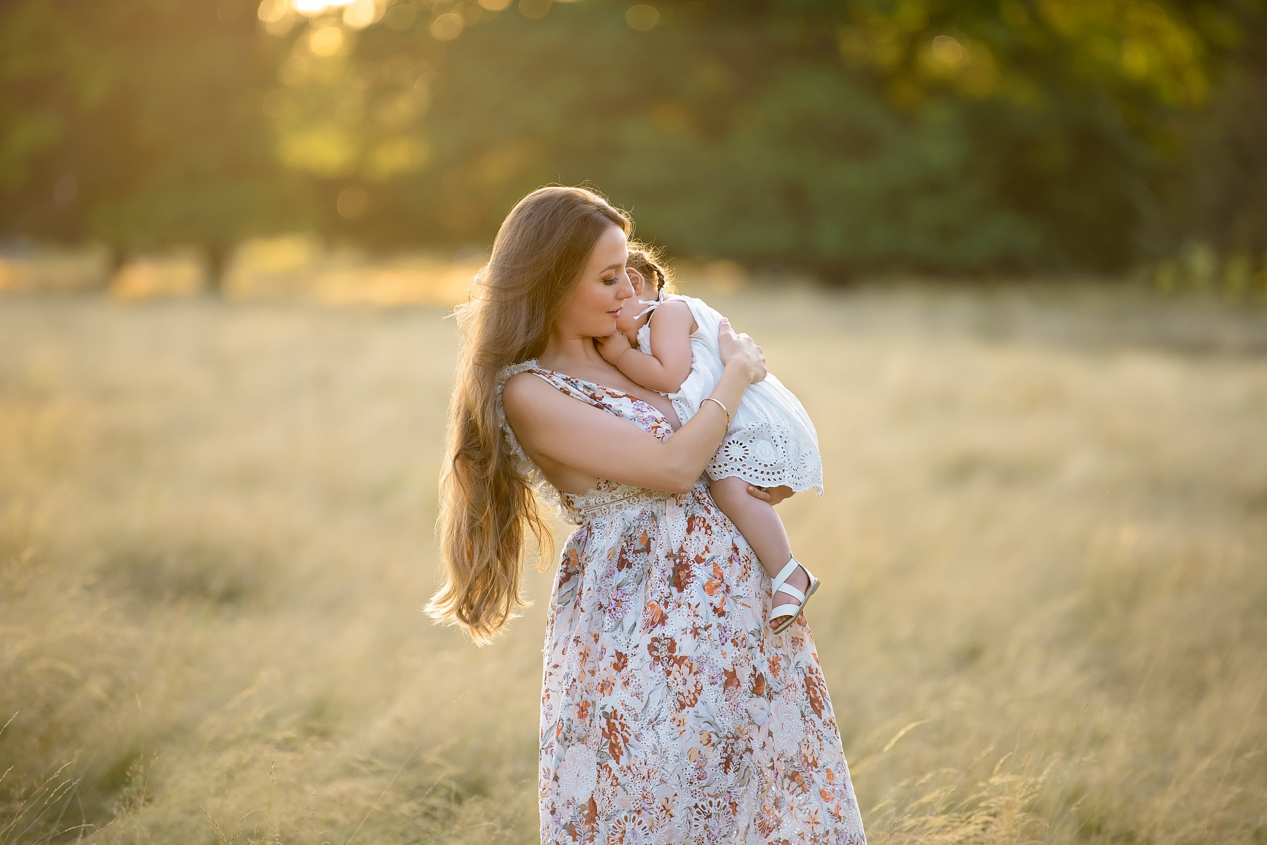 Award winning sunset portraits of families | London