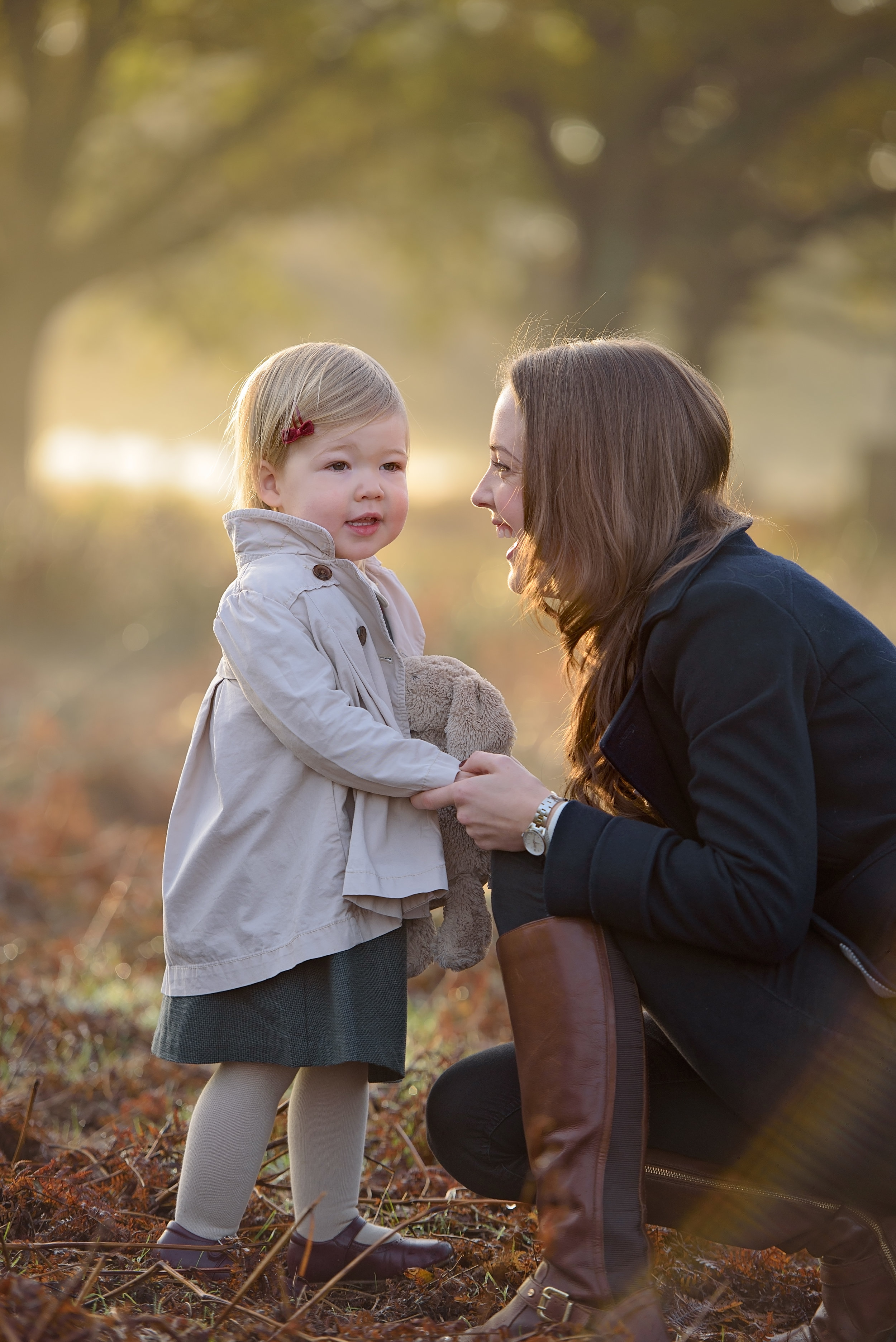 Family photoshoot in Richmond Park