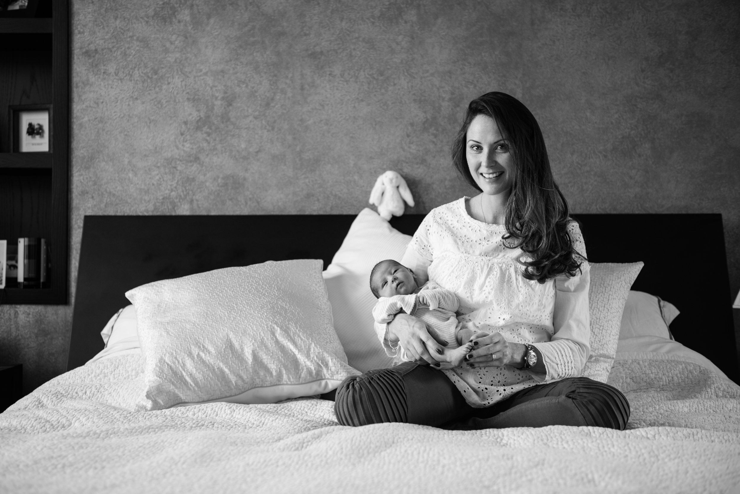 Black and white family photographers in London