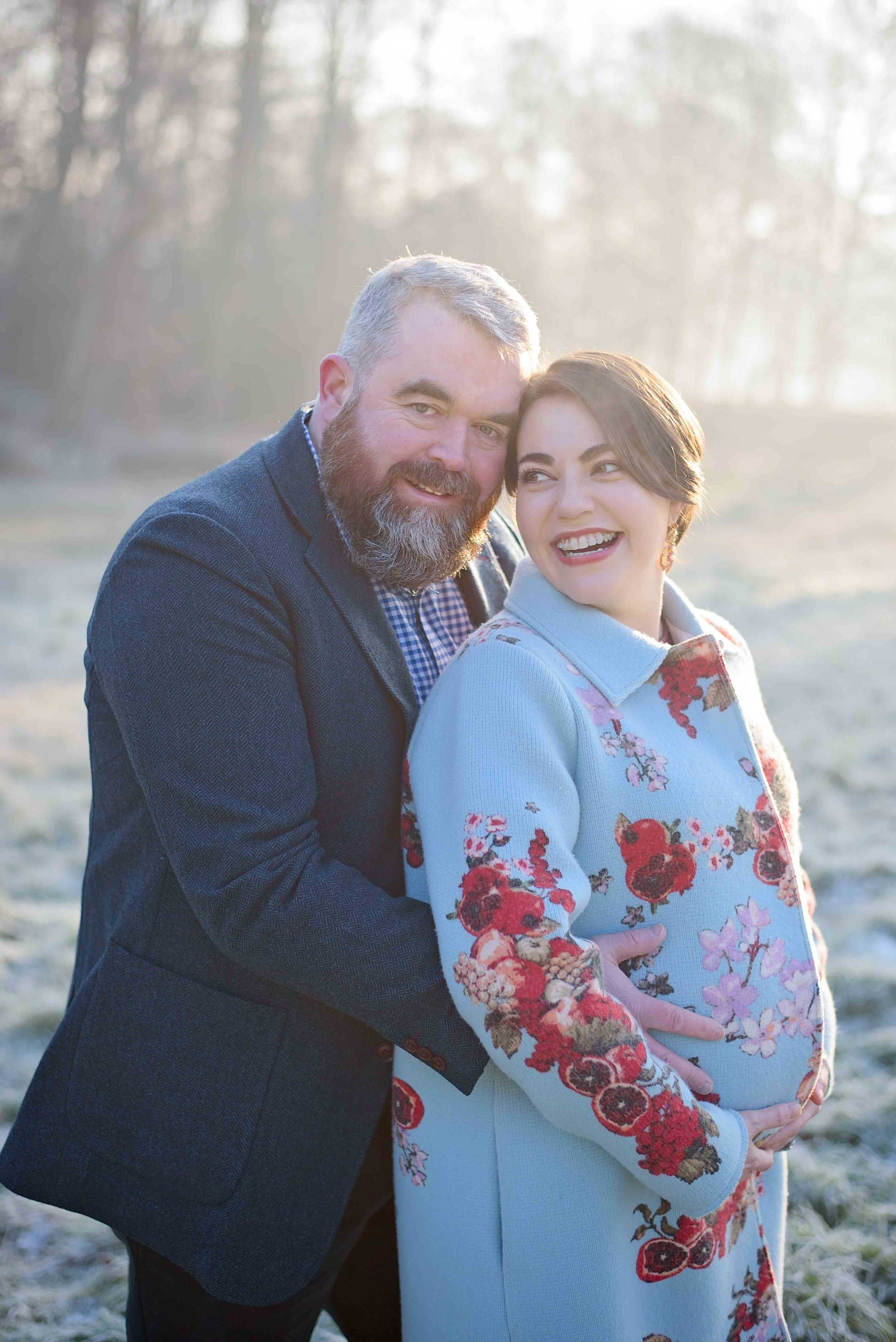 Pregnancy photo shoot Hampstead Heath