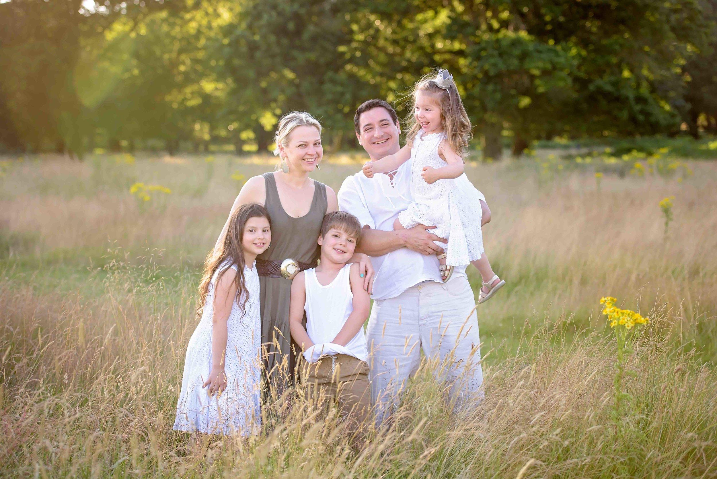 Family photo shoot Richmond Park