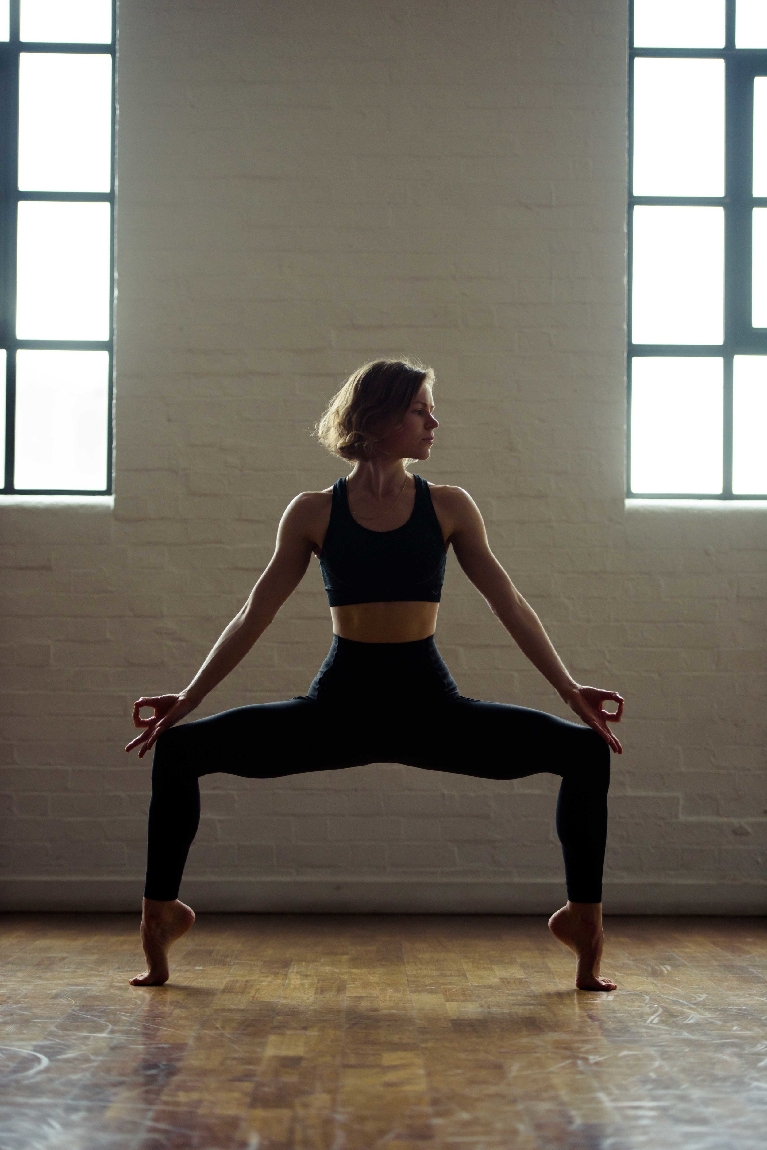 London yoga photographers