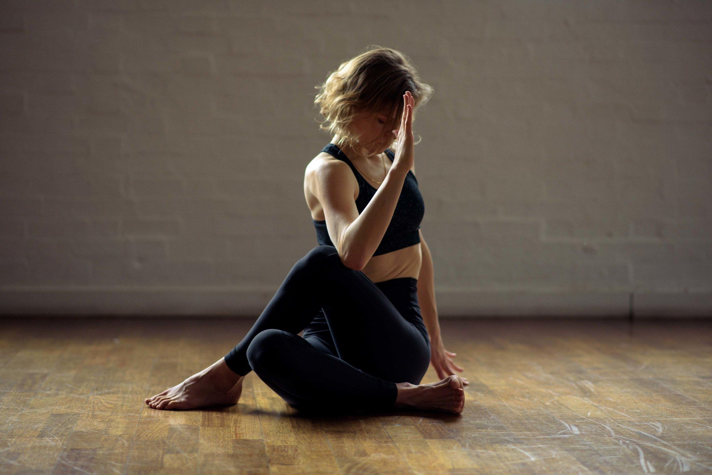 Lululemon yoga photoshoot
