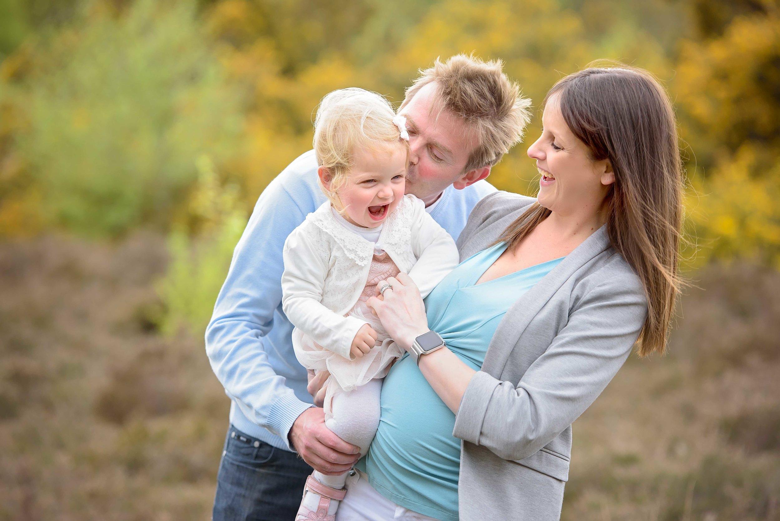 Professional family portrait photographer