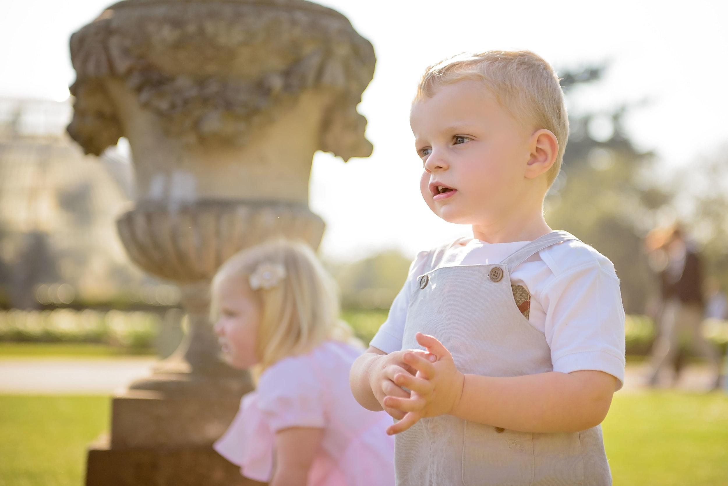 Family photos Kew Gardens