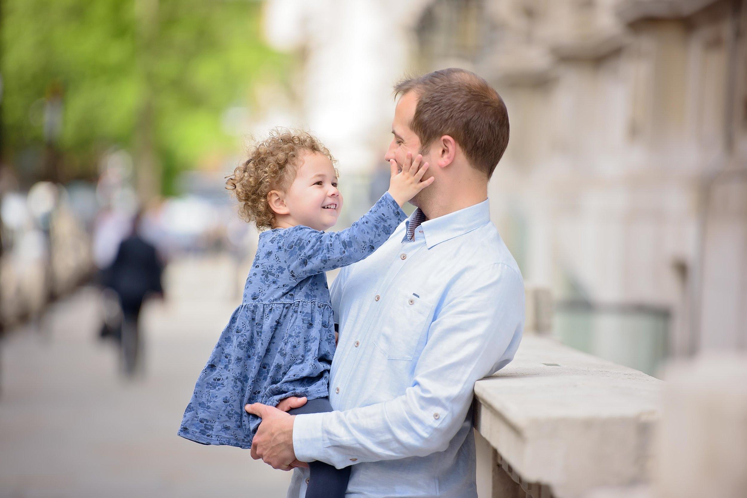 Urban family photoshoot London