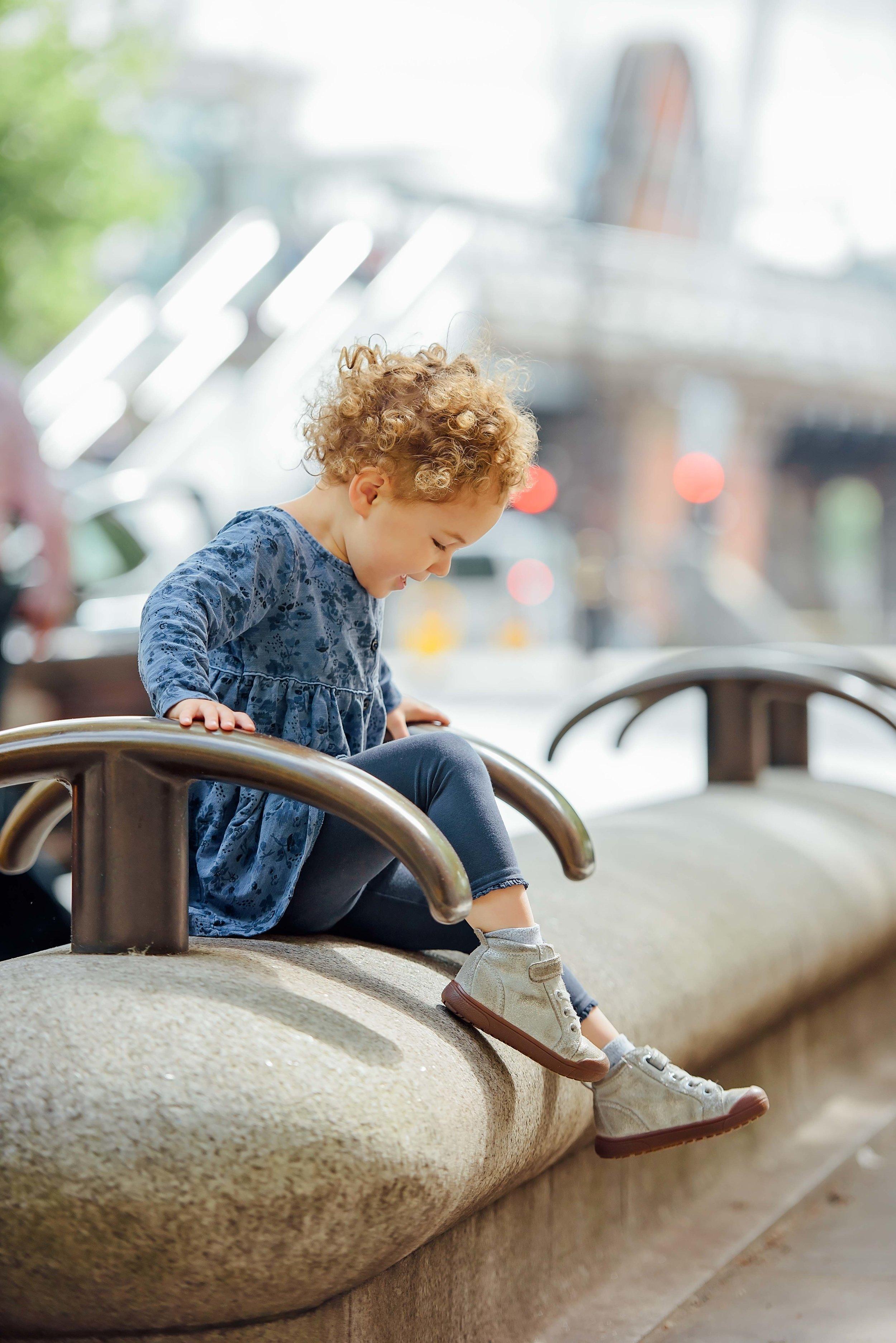 children's urban photography