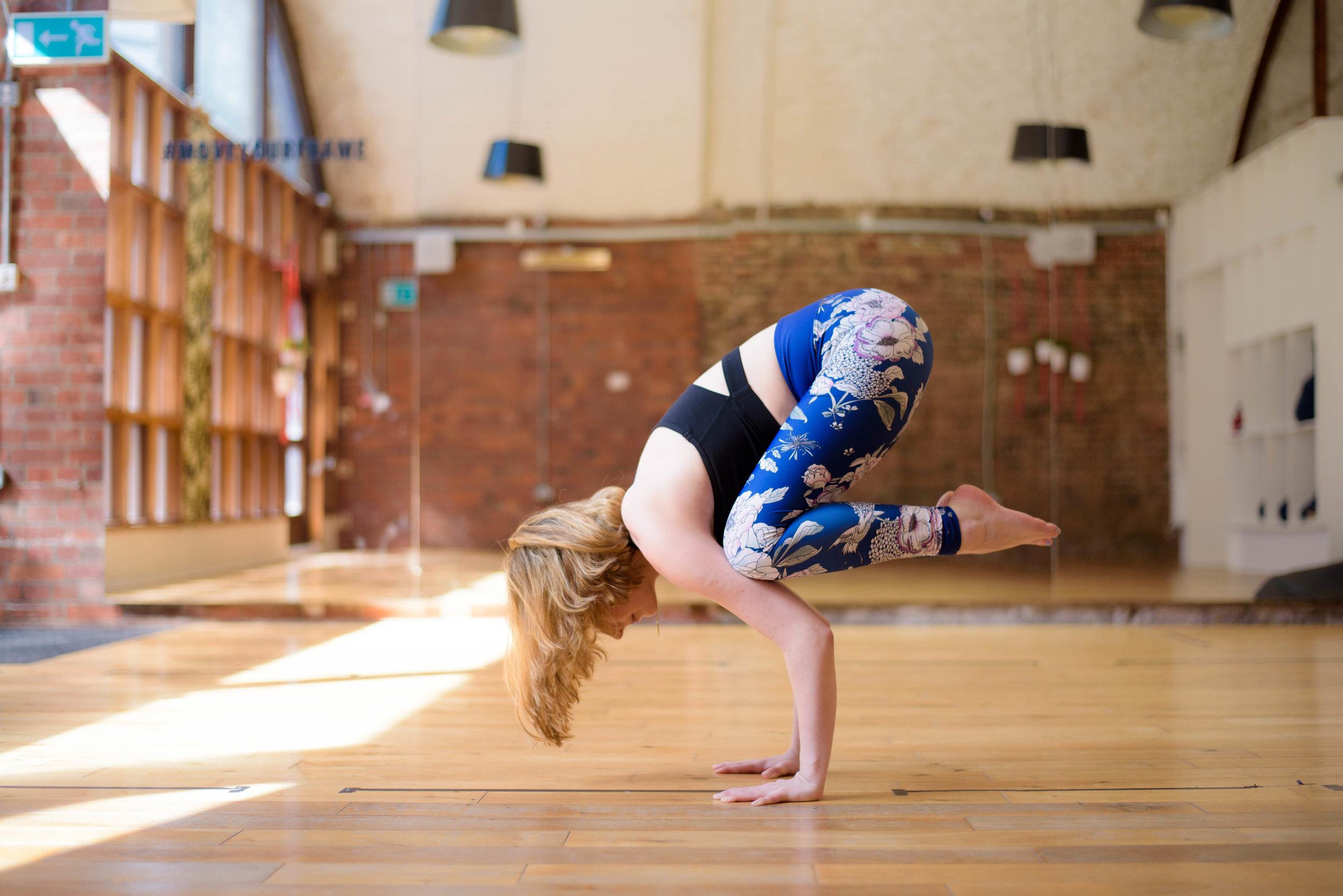 Shoreditch yoga photography