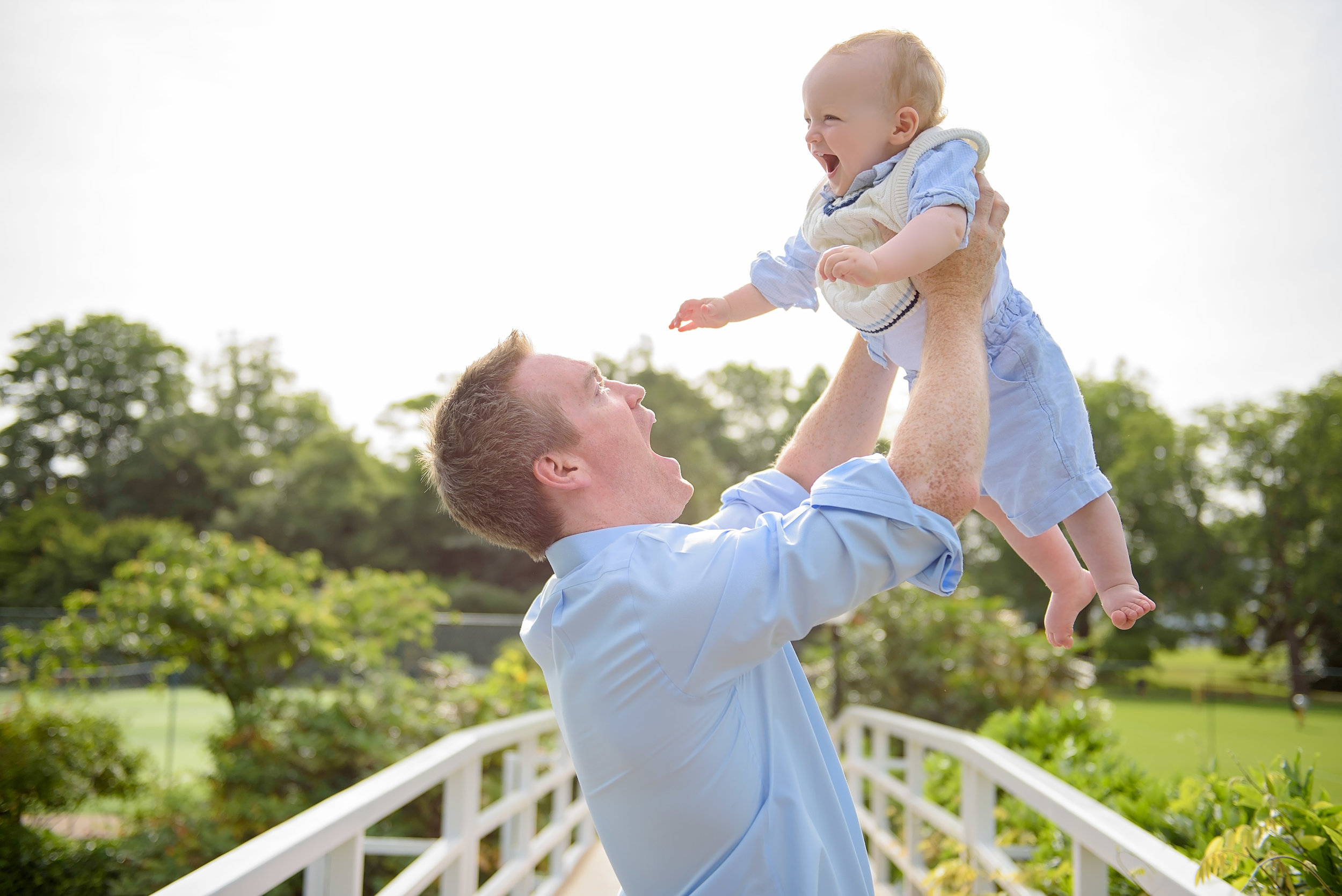 A family photo session at the Hurlingham club