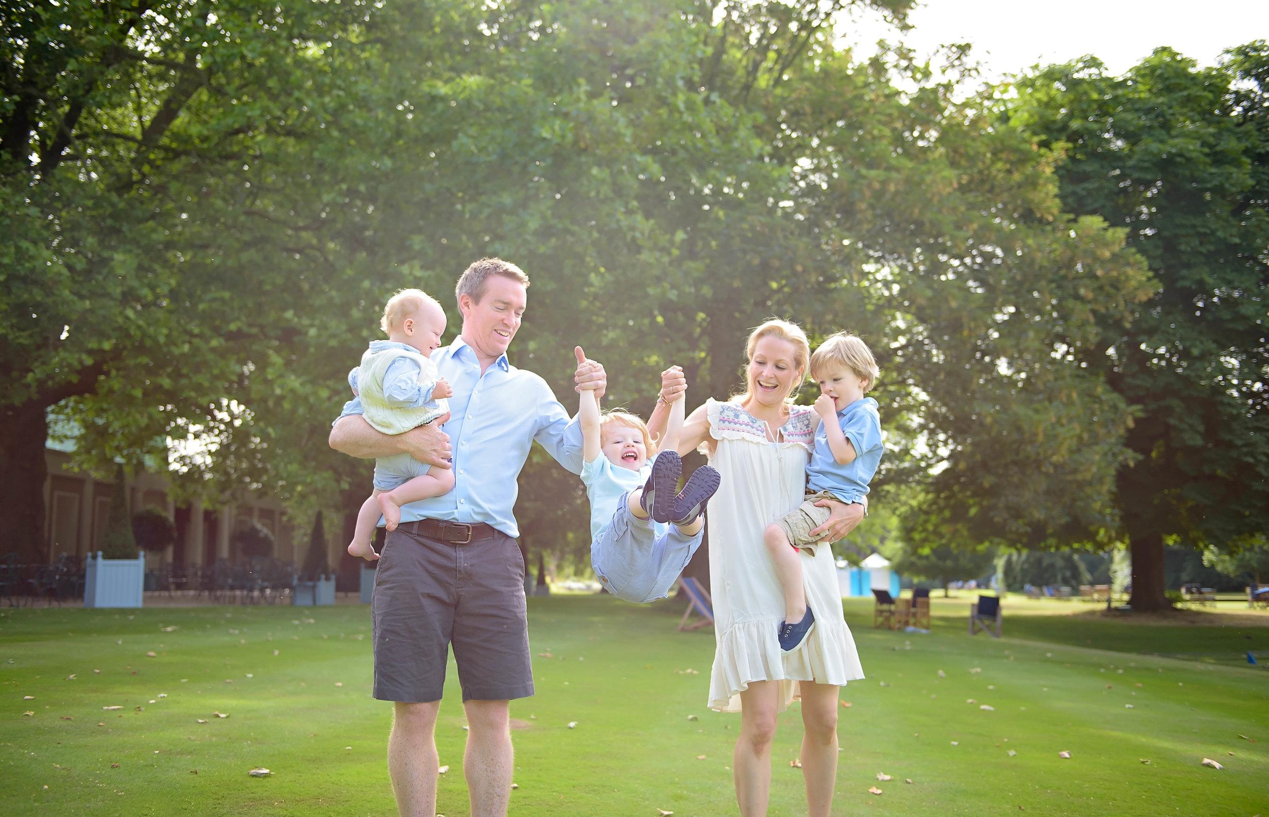 Lifestyle family photography London