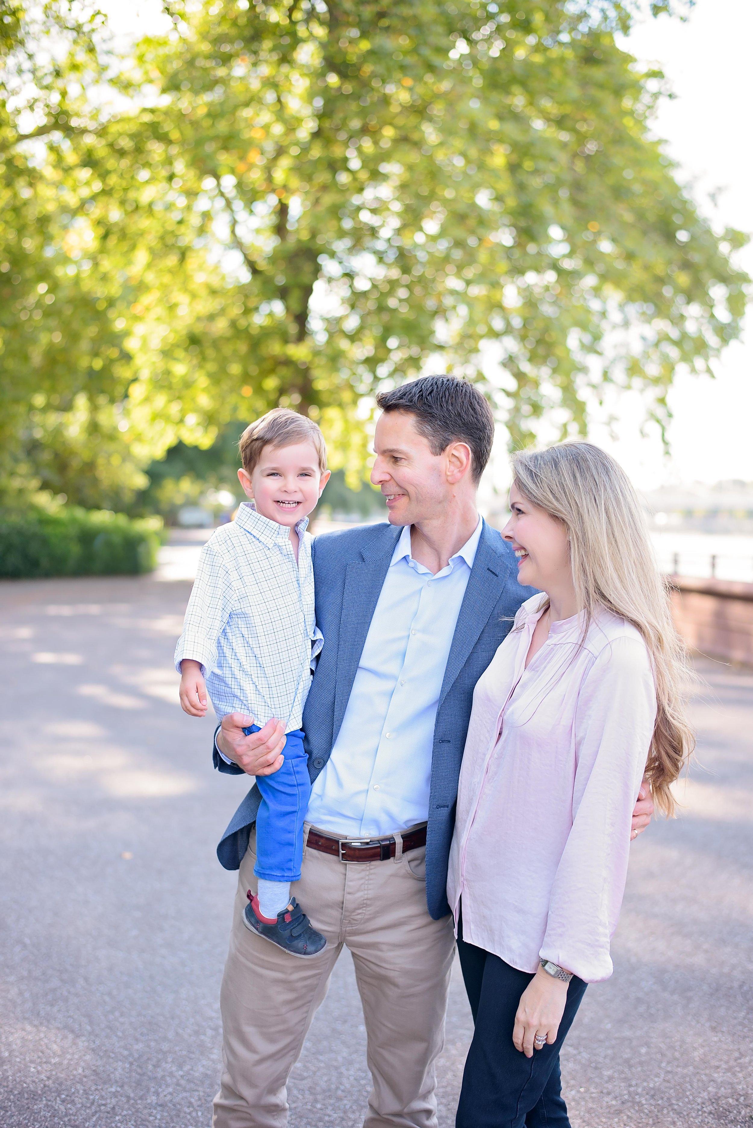 London vacation family photographer