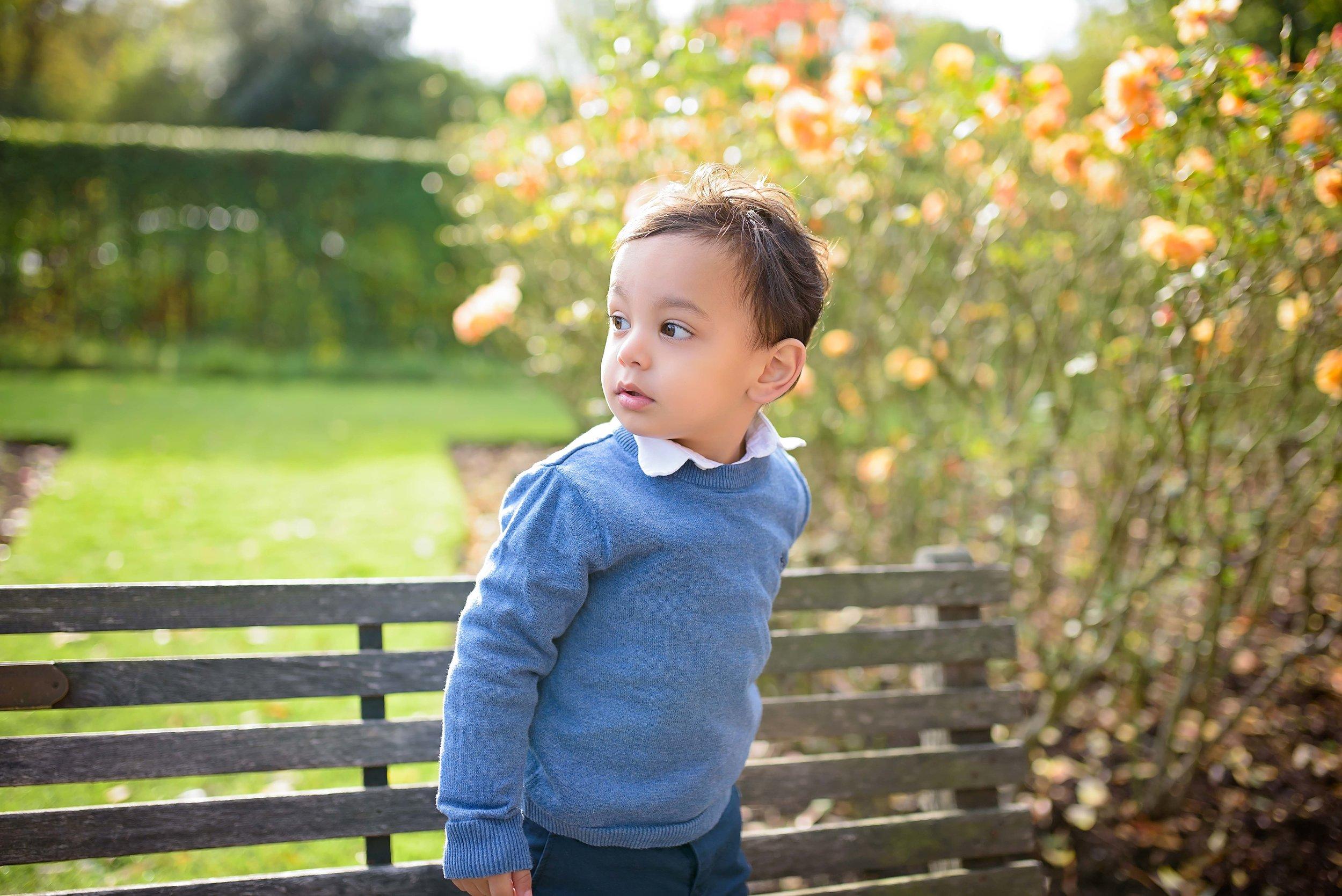 Regent's Park family photo shoot