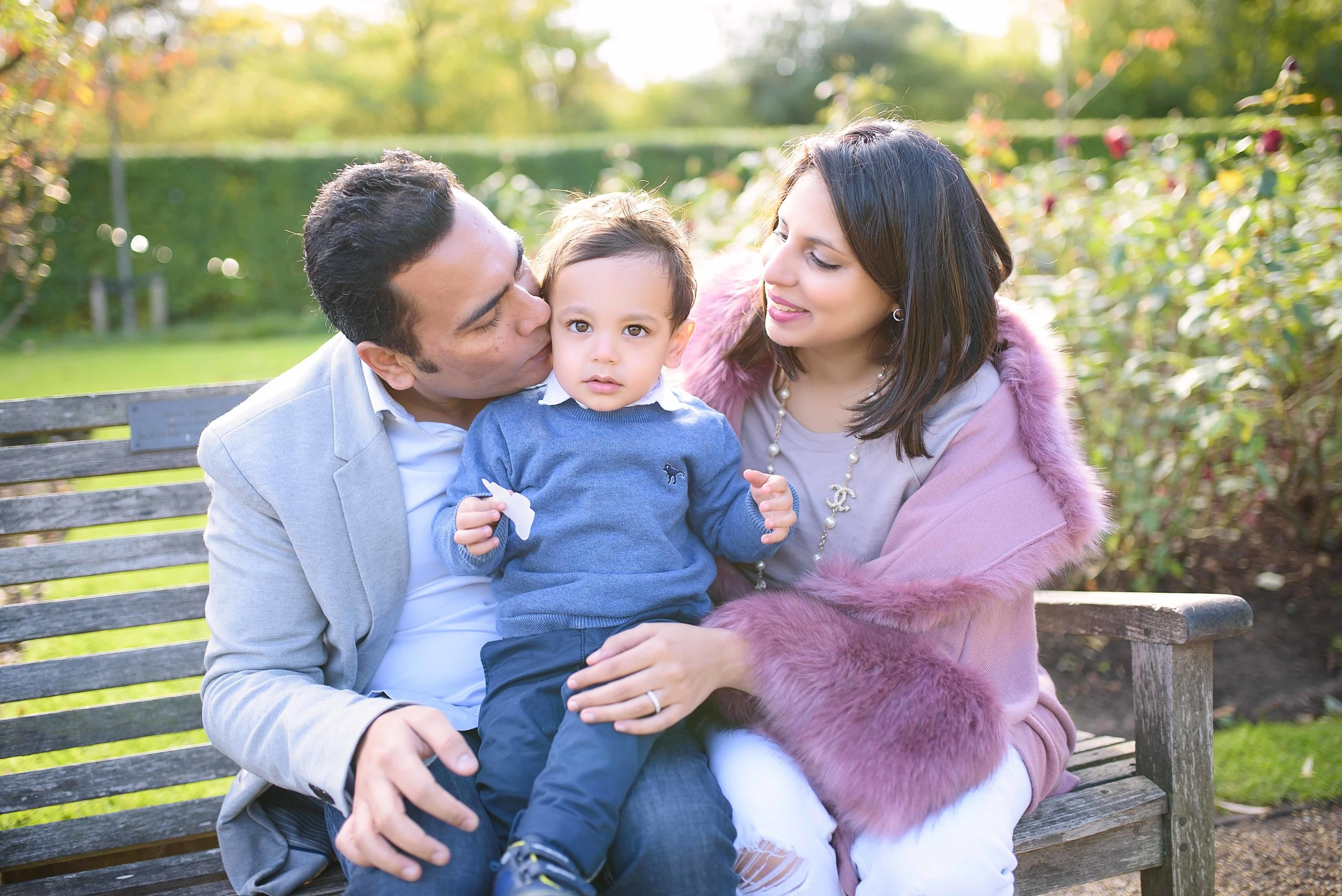"""We did an outdoor shoot in November with my toddler and newborn. All of us enjoyed the experience with Heather; she really focused on capturing special family moments. We will cherish these photos forever!"" - Leia, Maida Vale 