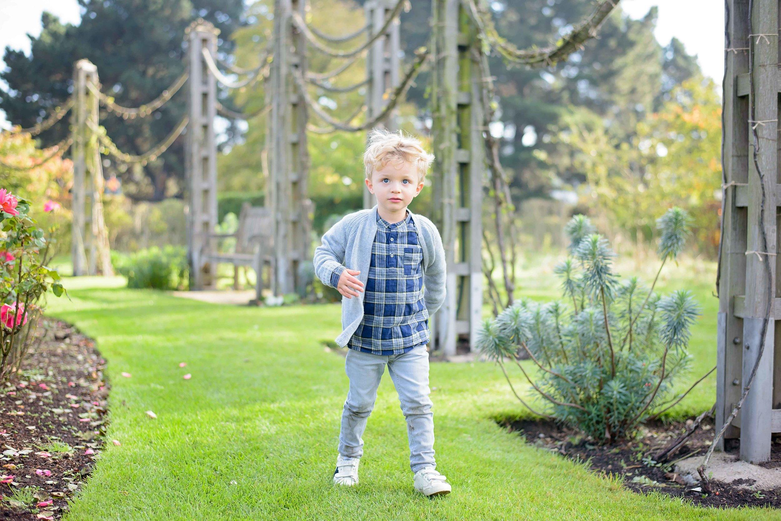 Kids photo shoot Regent's Park