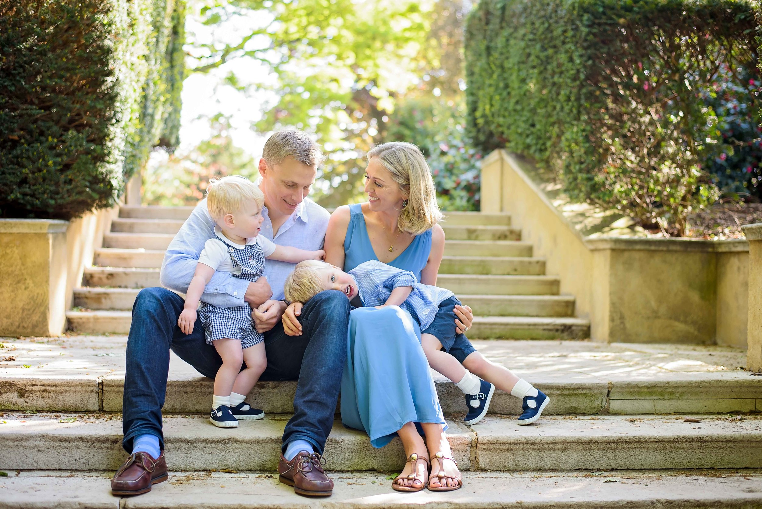 Natural outdoor family photography in London