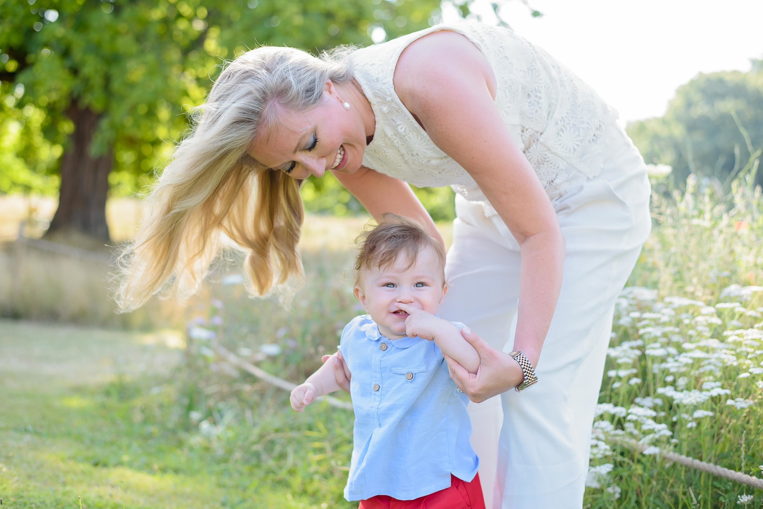 mummy and me photoshoot with baby