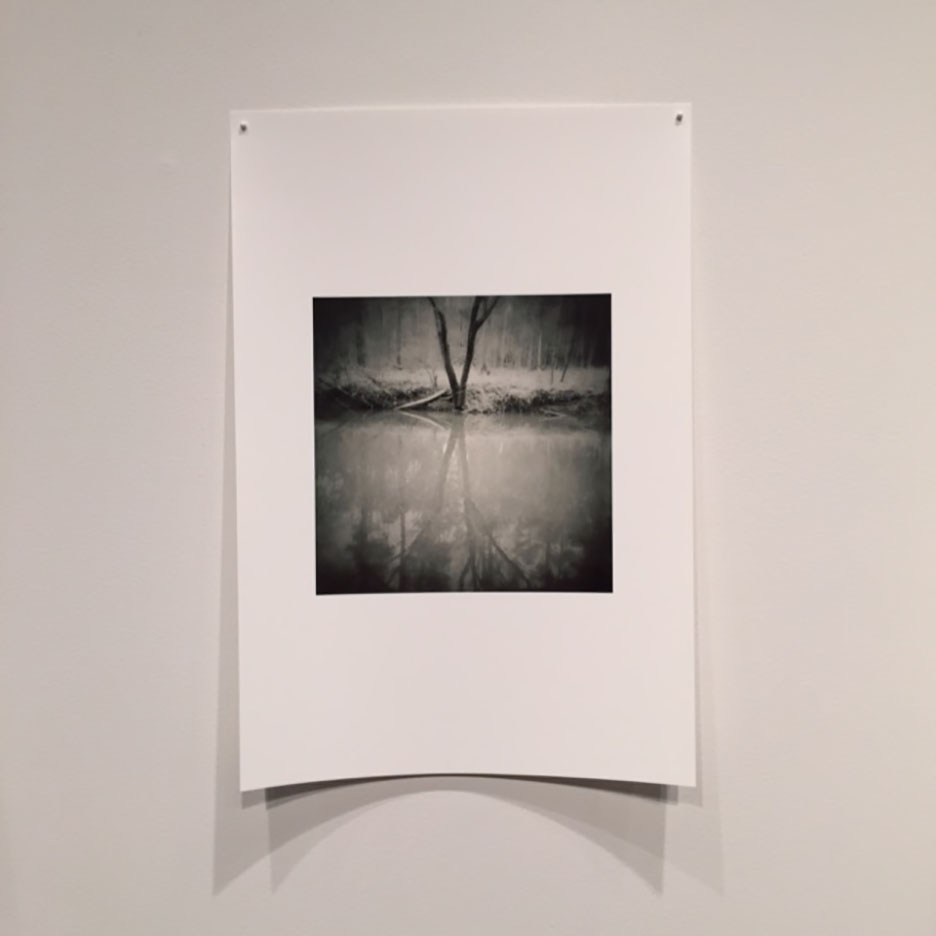This exhibition is comprised of phone camera images only which were uploaded to the Power Plant Gallery and then printed on Museo Silver Rag paper. The paper is gorgeous and luckily, we get to have the prints when the exhibit comes down. I was not familiar with Museo's products. They are located in Massachusetts and you can find out more about them on their website: http://www.museofineart.com  Highly recommend them.