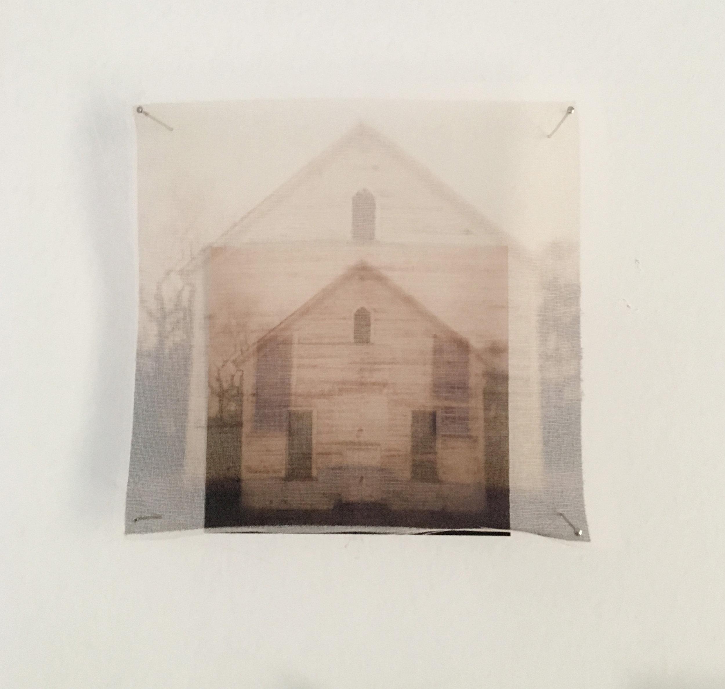 organza over pigment print